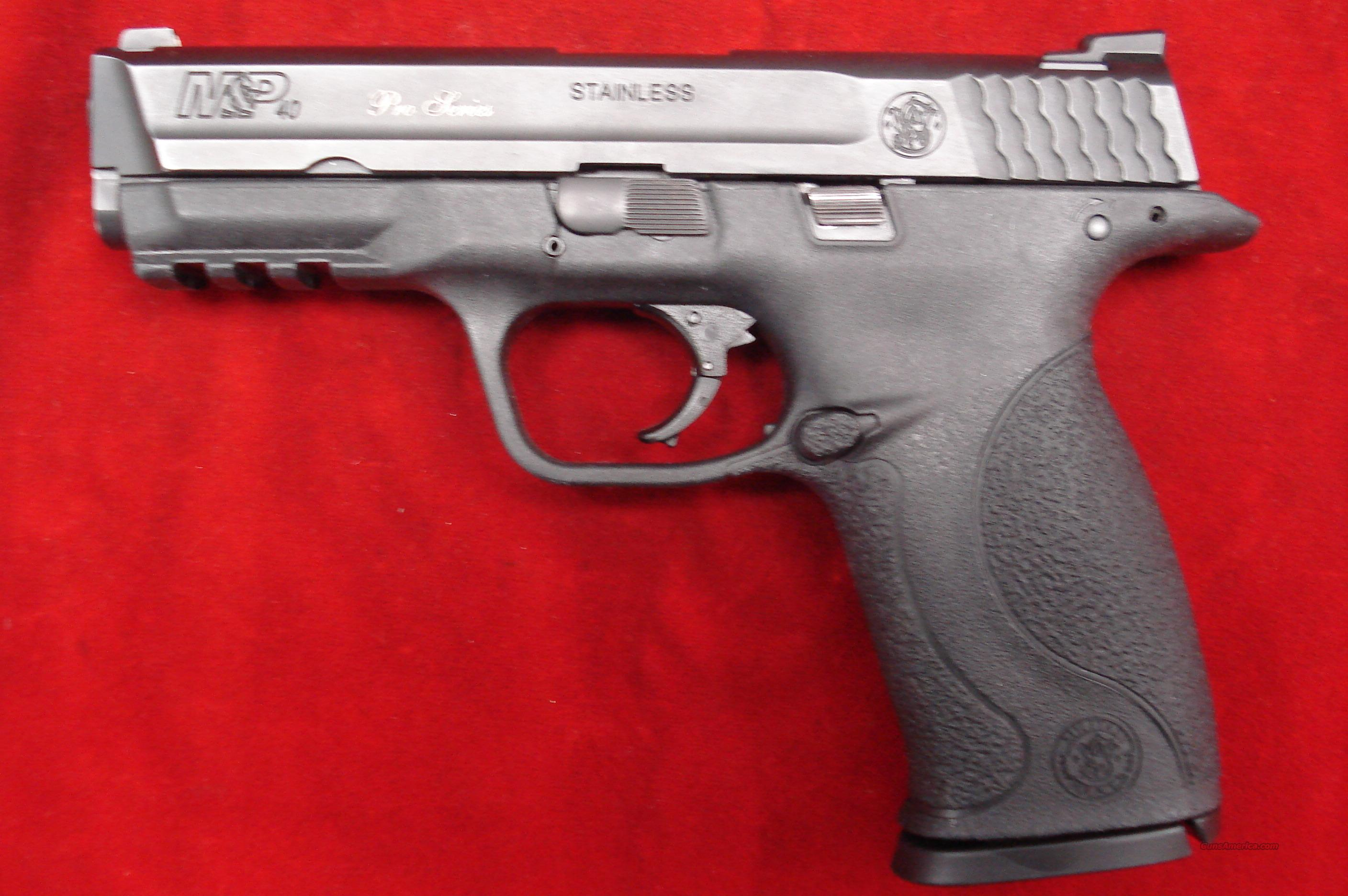 SMITH AND WESSON M&P PRO SERIES .40CAL HIGH/CAP WITH NIGHT SIGHTS USED GOOD CONDITION  Guns > Pistols > Smith & Wesson Pistols - Autos > Alloy Frame