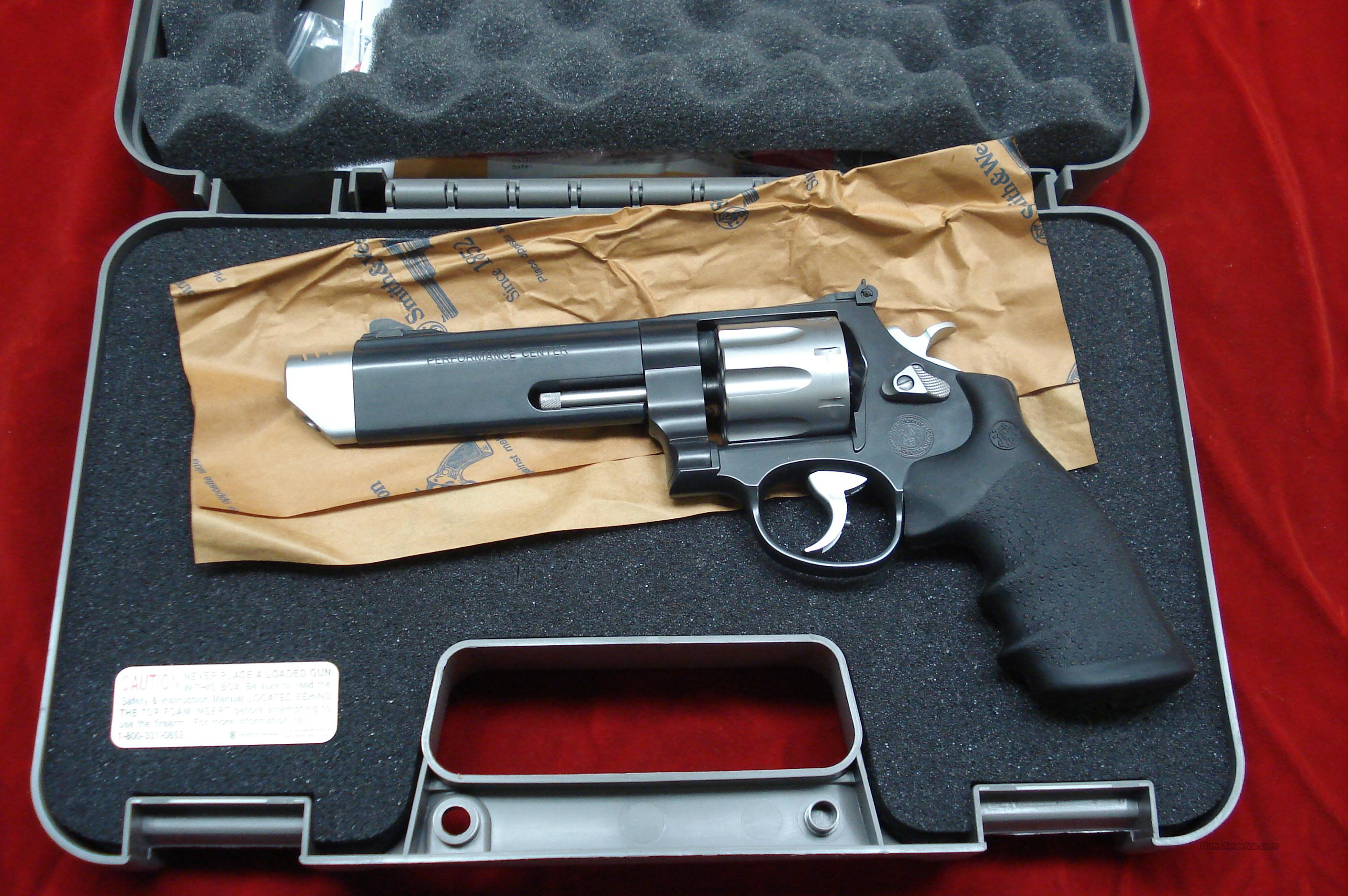 "SMITH AND WESSON PERFORMANCE CENTER MODEL 627 V-COMP 357 MAGNUM 5"" PORTED BLAKENED STAINLESS NEW  Guns > Pistols > Smith & Wesson Revolvers > Performance Center"