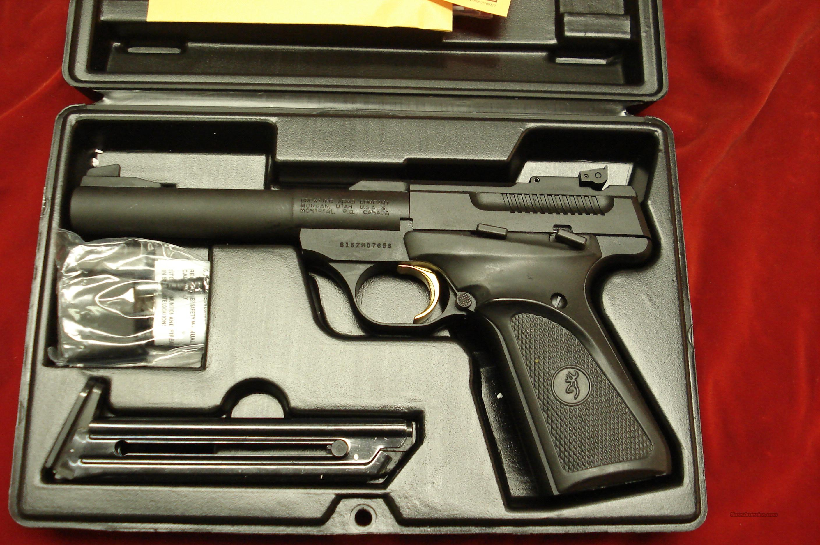 BROWNING BUCKMARK CAMPER  PRO TARGET  22CAL. NEW  Guns > Pistols > Browning Pistols > Buckmark
