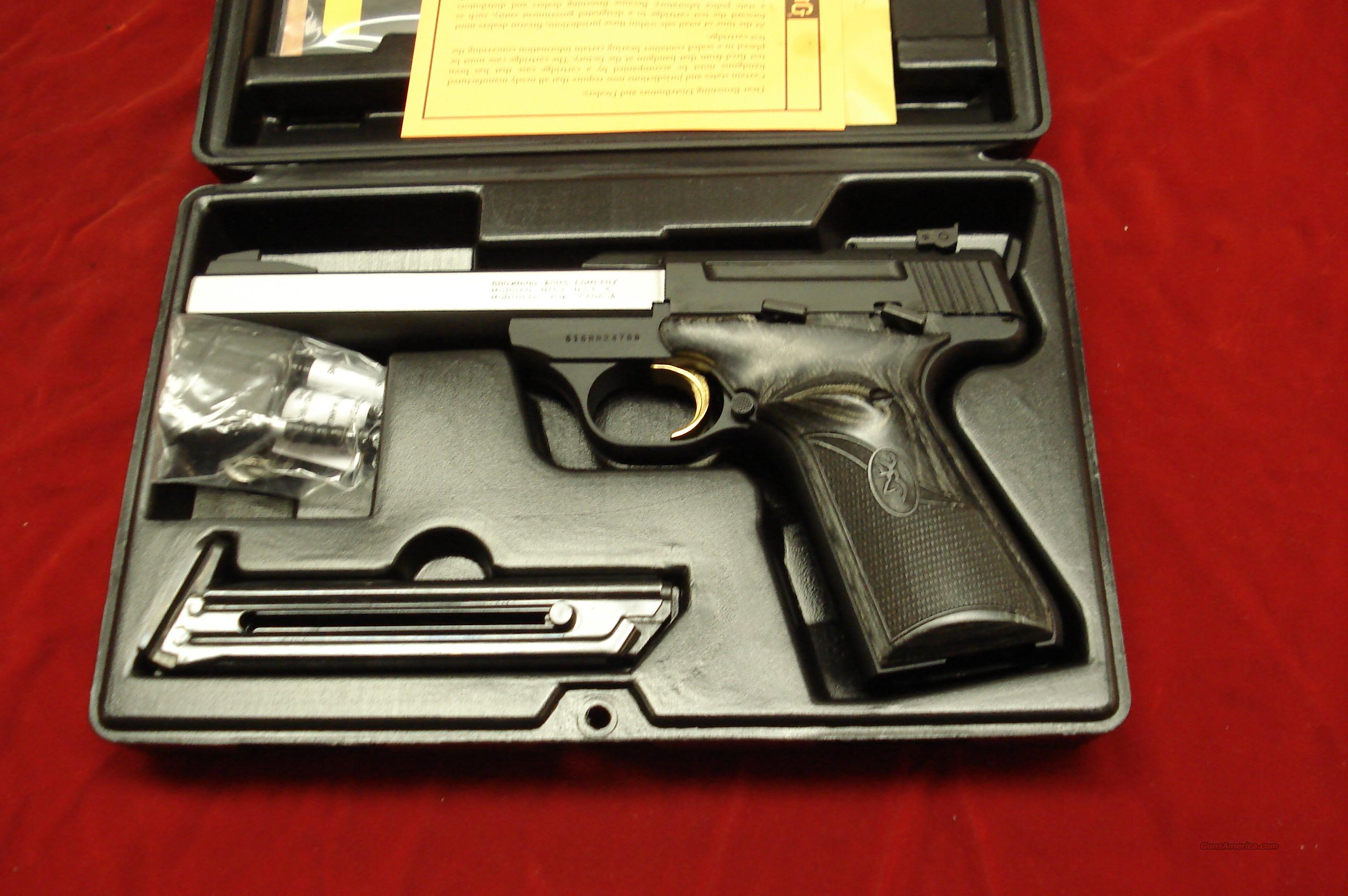 BROWNING BUCKMARK PLUS STAINLESS ECLIPSE PRO TARGET 22CAL. NEW  Guns > Pistols > Browning Pistols > Buckmark