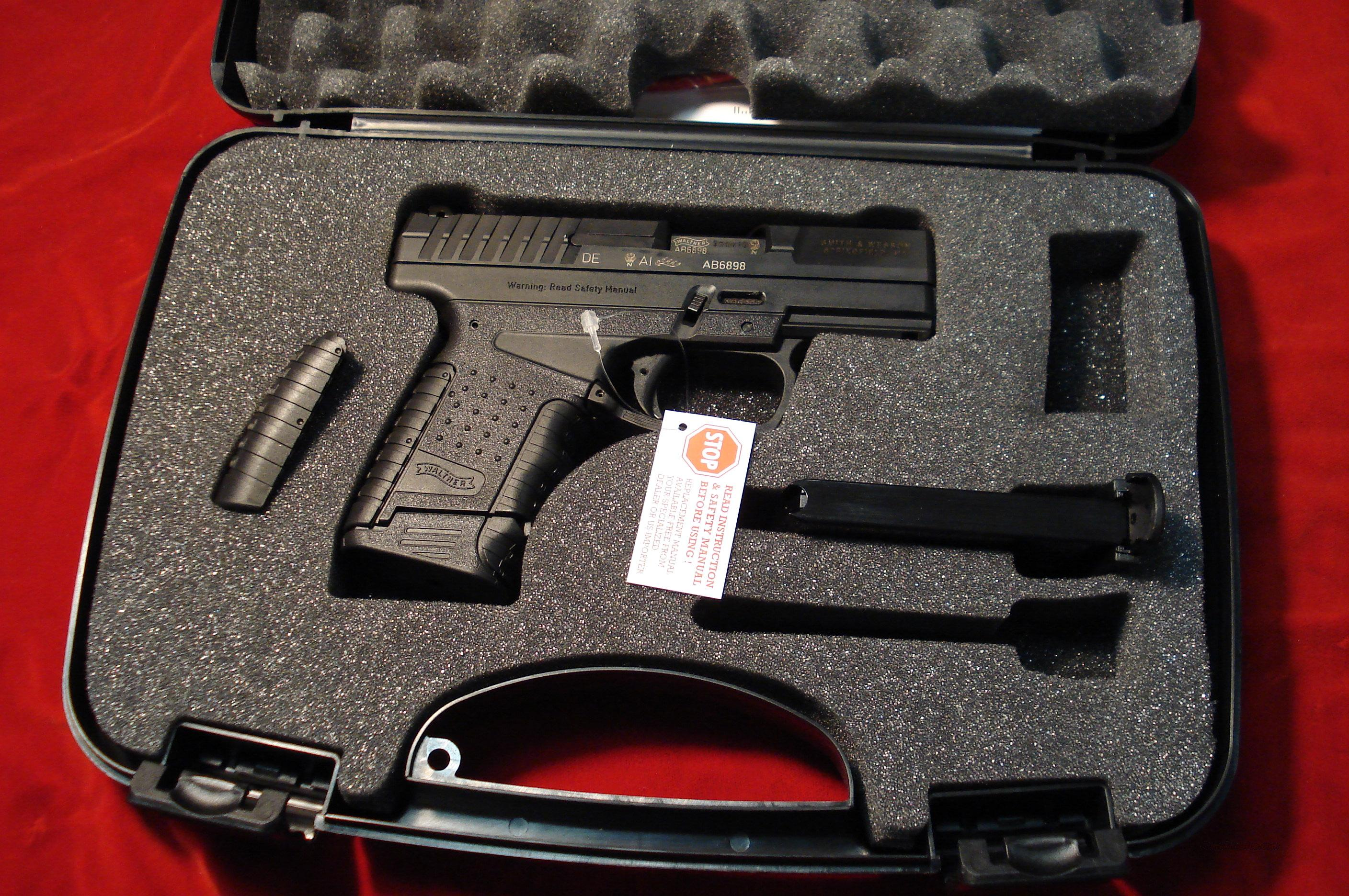WALTHER PPS 9MM NEW  Guns > Pistols > Walther Pistols > Post WWII > PP Series
