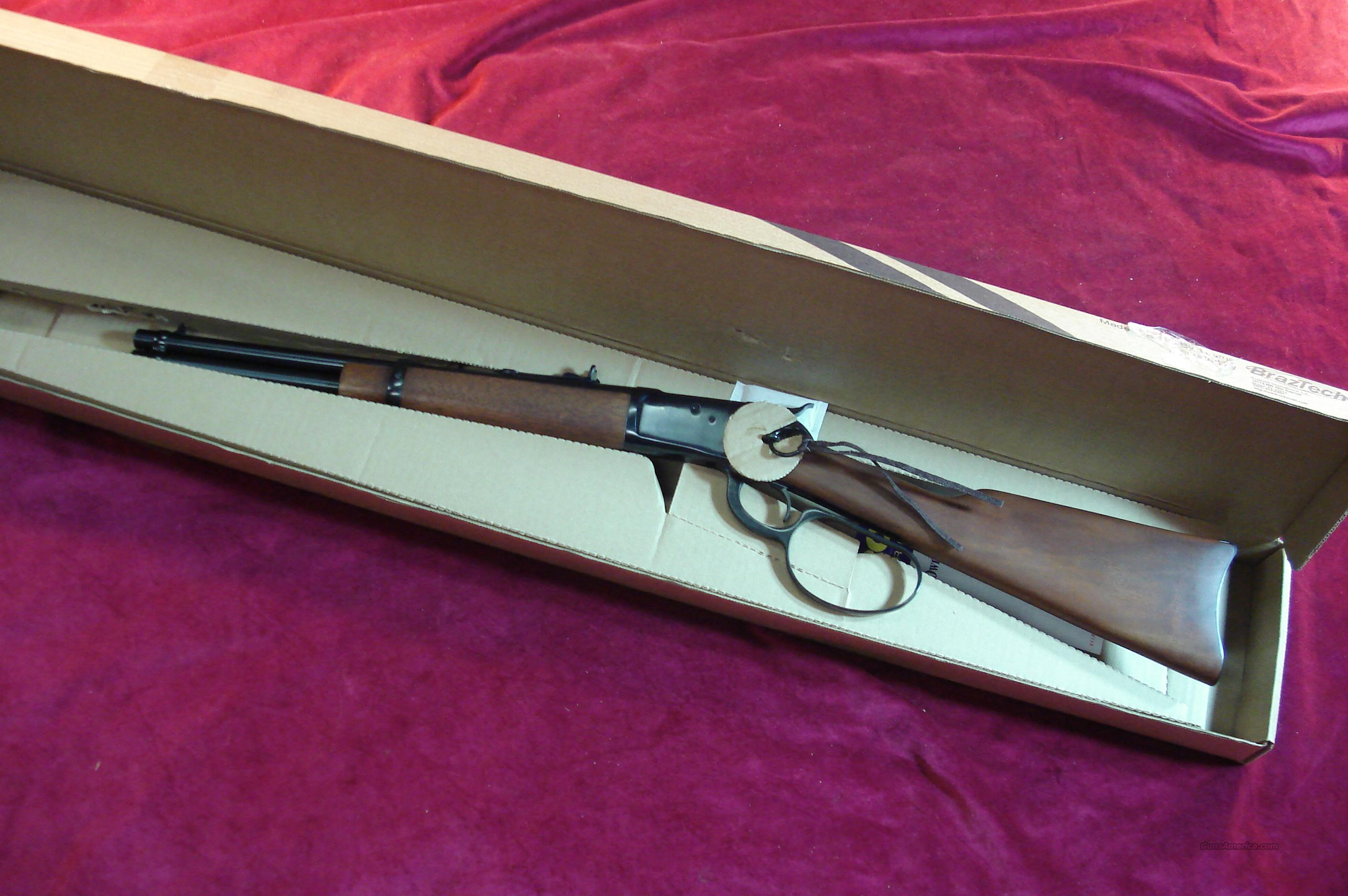 "ROSSI BLUE 92 LEVER ACTION LARGE LOOP 45 COLT CAL. 16"" SADDEL RING CARBINE NEW  Guns > Rifles > Rossi Rifles > Cowboy"