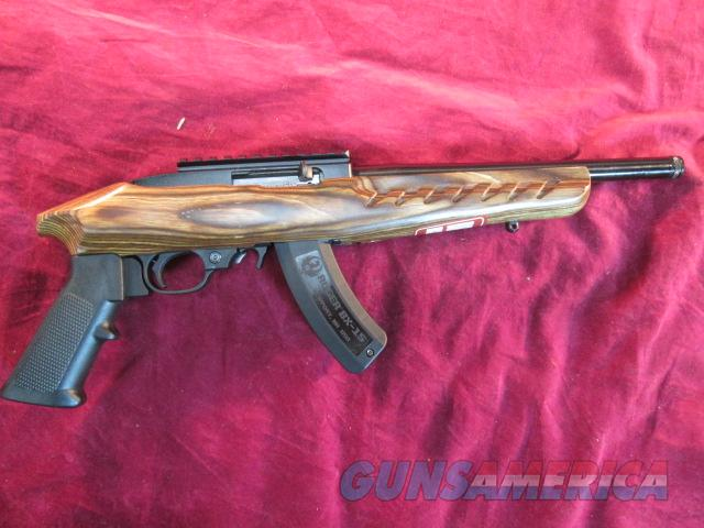 RUGER CHARGER BROWN LAMINATE 22LR NEW  Guns > Pistols > Ruger Semi-Auto Pistols > Charger Series
