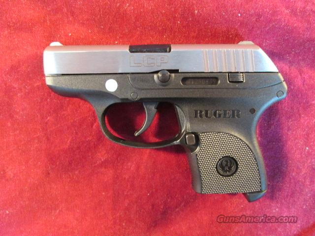 RUGER LCP STAINLESS STEEL (Lightweight Compact Pistol) 380CAL. NEW  Guns > Pistols > Ruger Semi-Auto Pistols > LCP