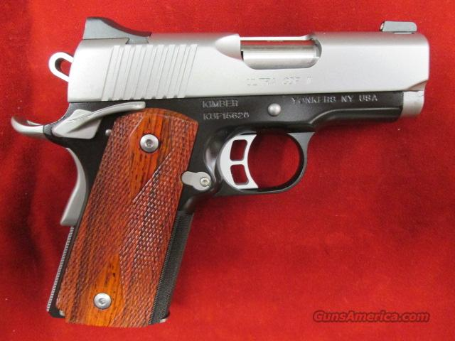 KIMBER ULTRA CDP II 9MM W/ NIGHT SIGHTS NEW  (3200182)   Guns > Pistols > Kimber of America Pistols