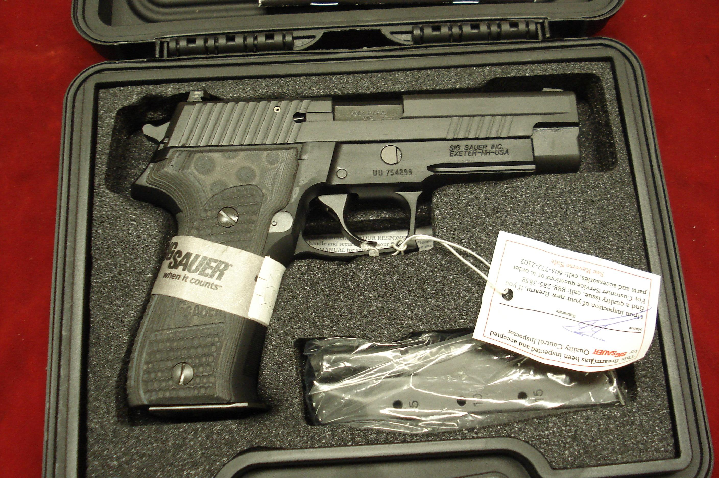 SIG SAUER P226 ENHANCED ELITE 9MM AND NIGHT SIGHTS NEW  Guns > Pistols > Sig - Sauer/Sigarms Pistols > P226