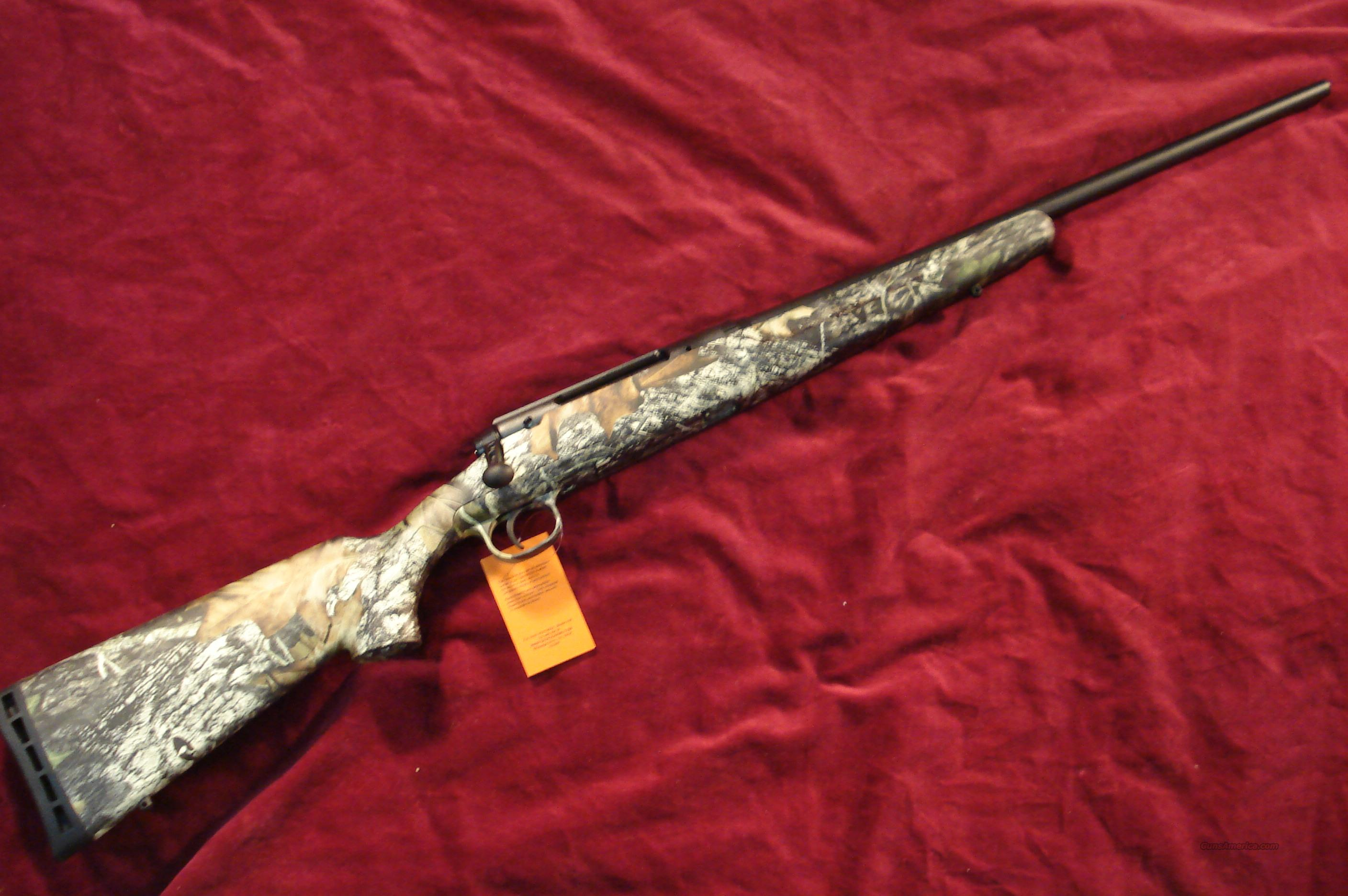 SAVAGE AXIS 243 CAL. CAMO NEW  Guns > Rifles > Savage Rifles > Standard Bolt Action > Sporting