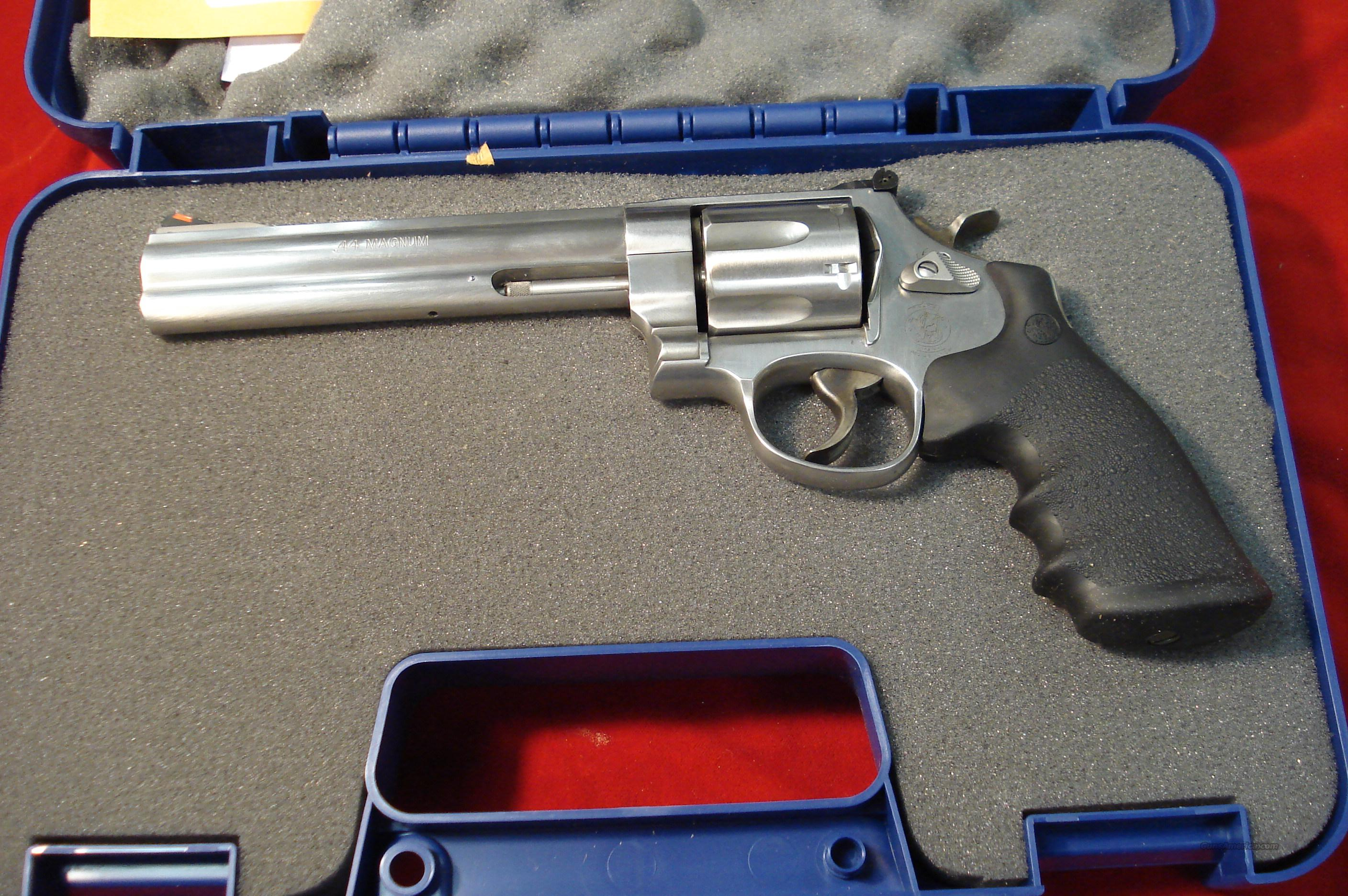"SMITH AND WESSON 629 CLASSIC 6"" 44MAG. NEW    Guns > Pistols > Smith & Wesson Revolvers > Model 629"