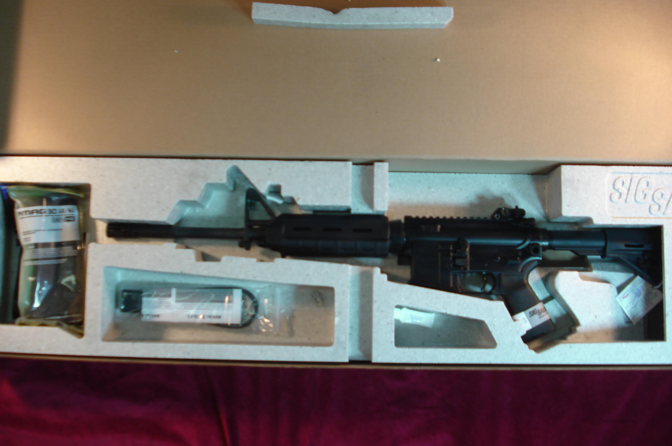 SIG SAUER M400 ENHANCED AR-15 5.56/223 CAL. WITH SIGTAC CP1 SCOPE NEW  Guns > Rifles > Sig - Sauer/Sigarms Rifles