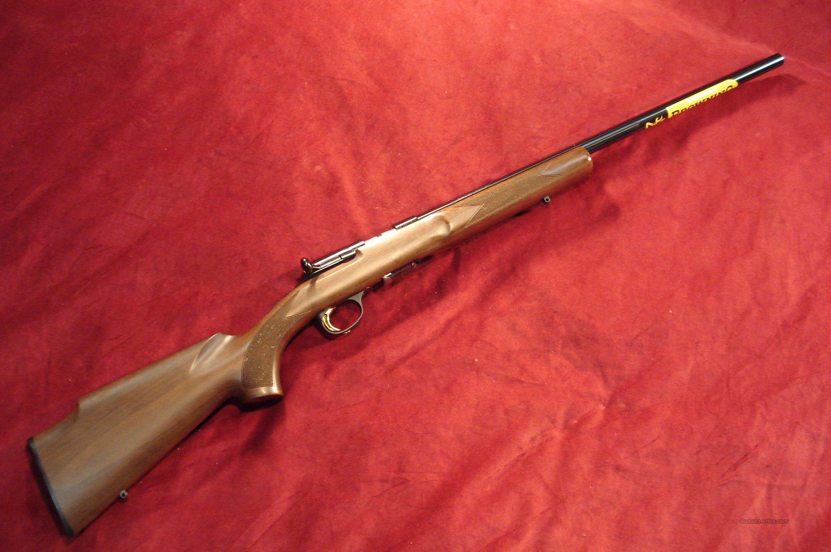 BROWNING T-BOLT TARGET/VARMINT 17HMR NEW   Guns > Rifles > Browning Rifles > Bolt Action > Hunting > Blue