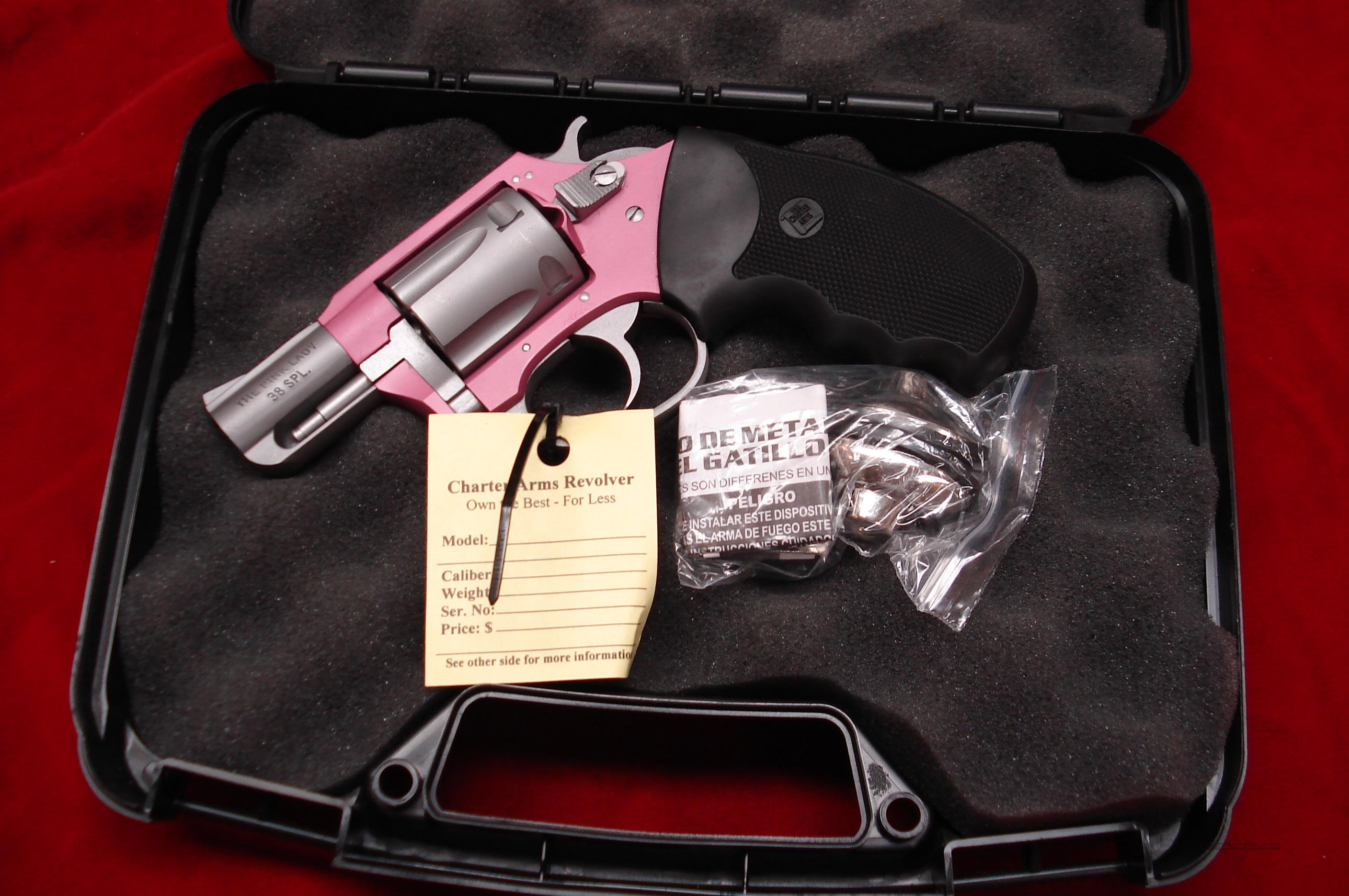 CHARTER ARMS PINK LADY 38SPL. NEW  Guns > Pistols > Charter Arms Revolvers