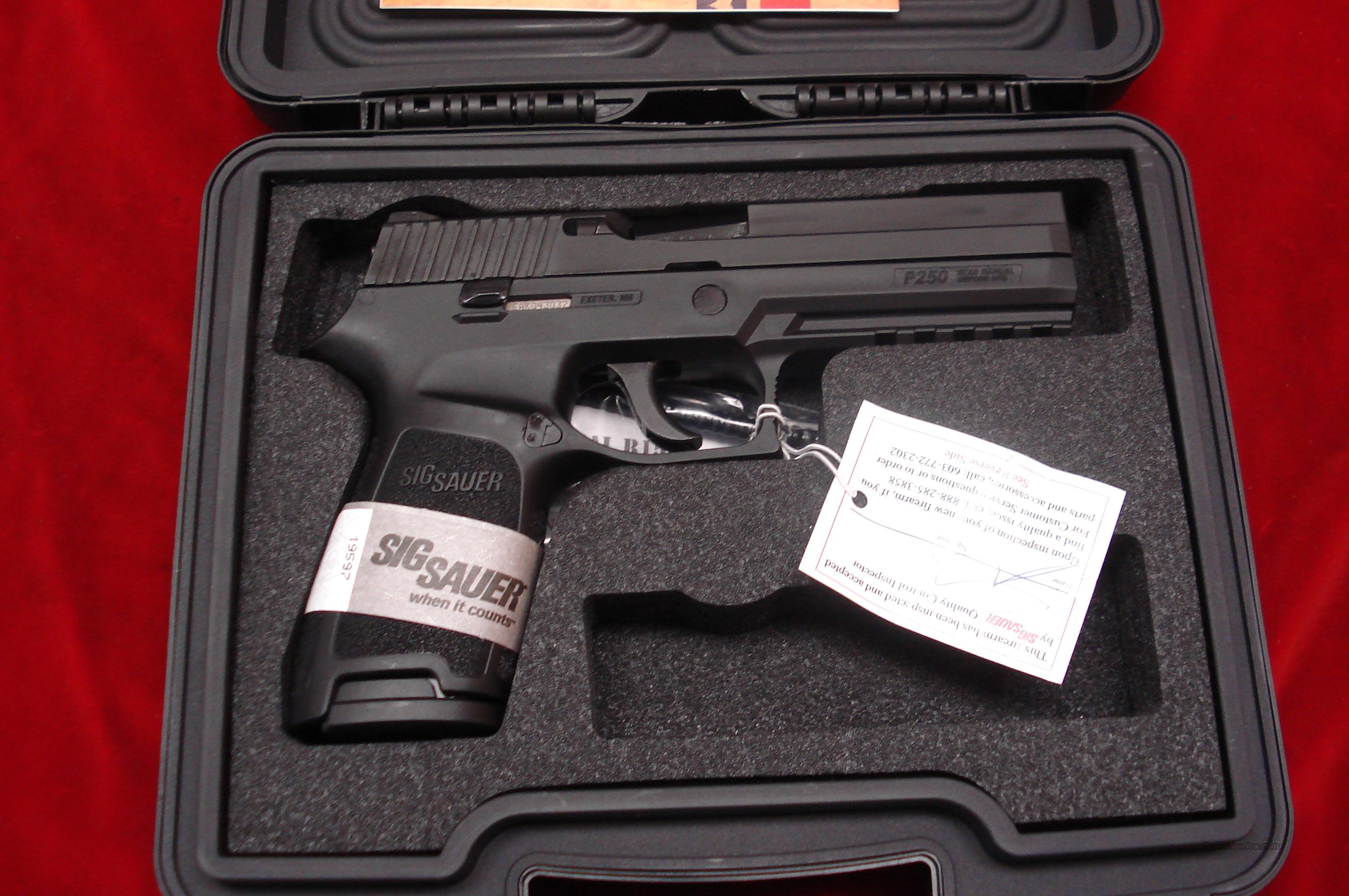 SIG SAUER P250 .40 CAL. NEW  Guns > Pistols > Sig - Sauer/Sigarms Pistols > Other