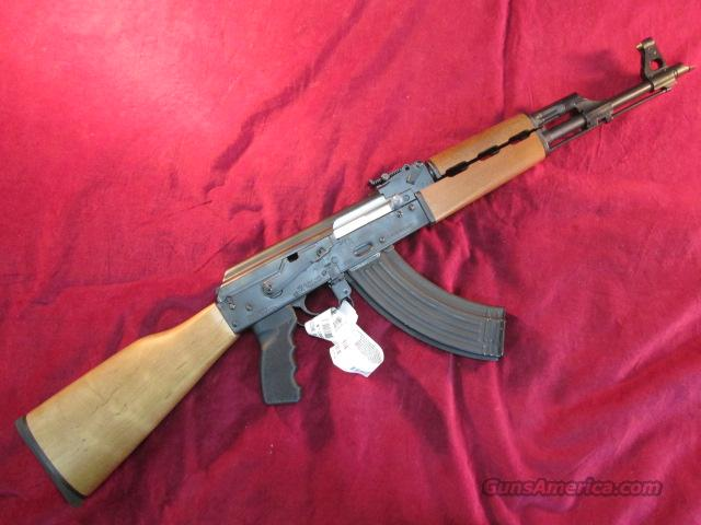CENTURY INT'L SERBIAN AK 47 SLANT BREAK AND FULL WOOD STOCK 7.62X39 CAL. NEW  Guns > Rifles > AK-47 Rifles (and copies) > Full Stock