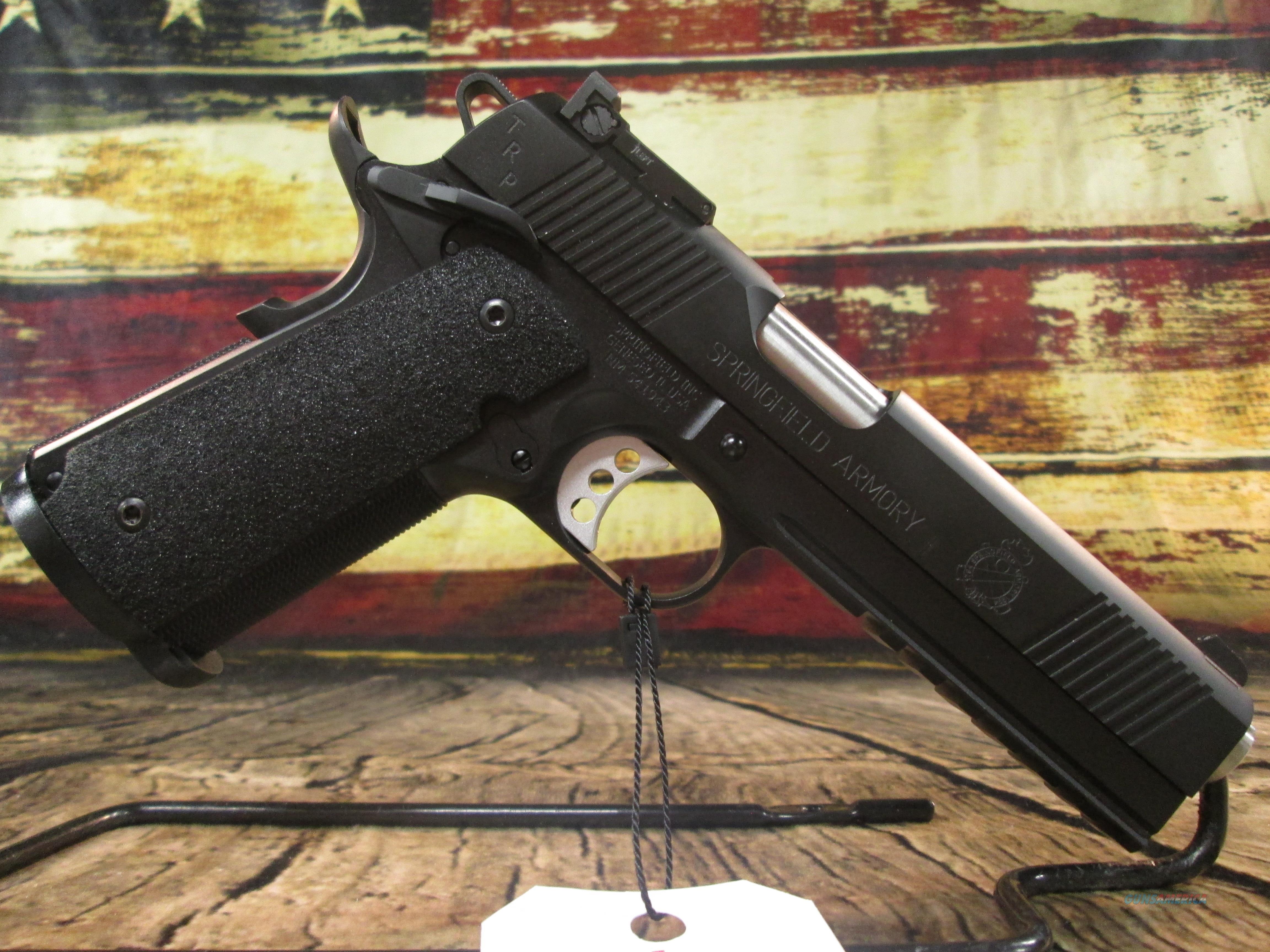 """Springfield Armory 1911 5"""" TRP Operator 45 ACP New (PC9105LCA)  Guns > Pistols > Springfield Armory Pistols > 1911 Type"""