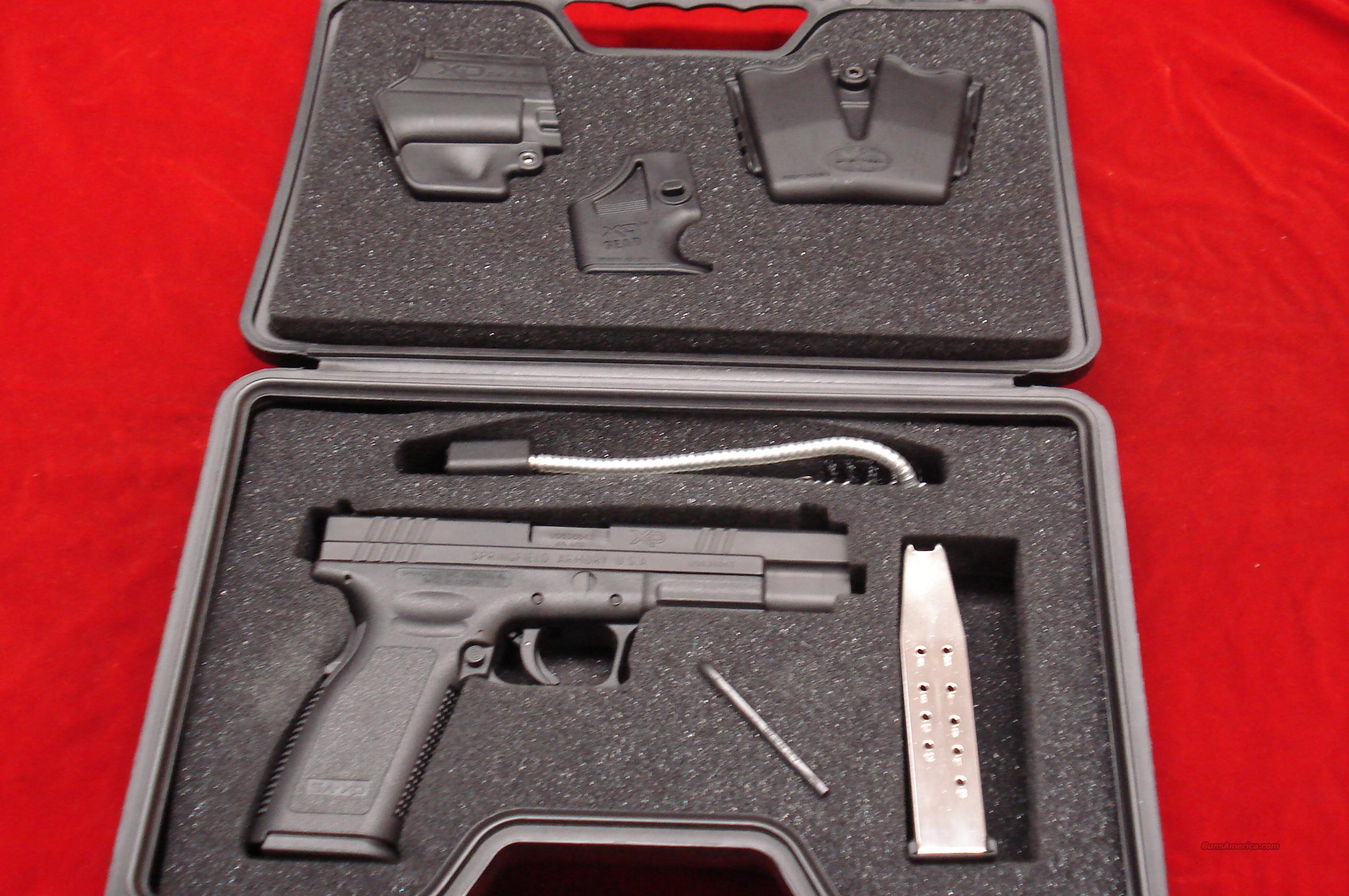 "SPRINGFIELD ARMORY XD TACTICAL 5"" 45ACP HIGH CAPACITY PACKAGE USED   Guns > Pistols > Springfield Armory Pistols > XD (eXtreme Duty)"
