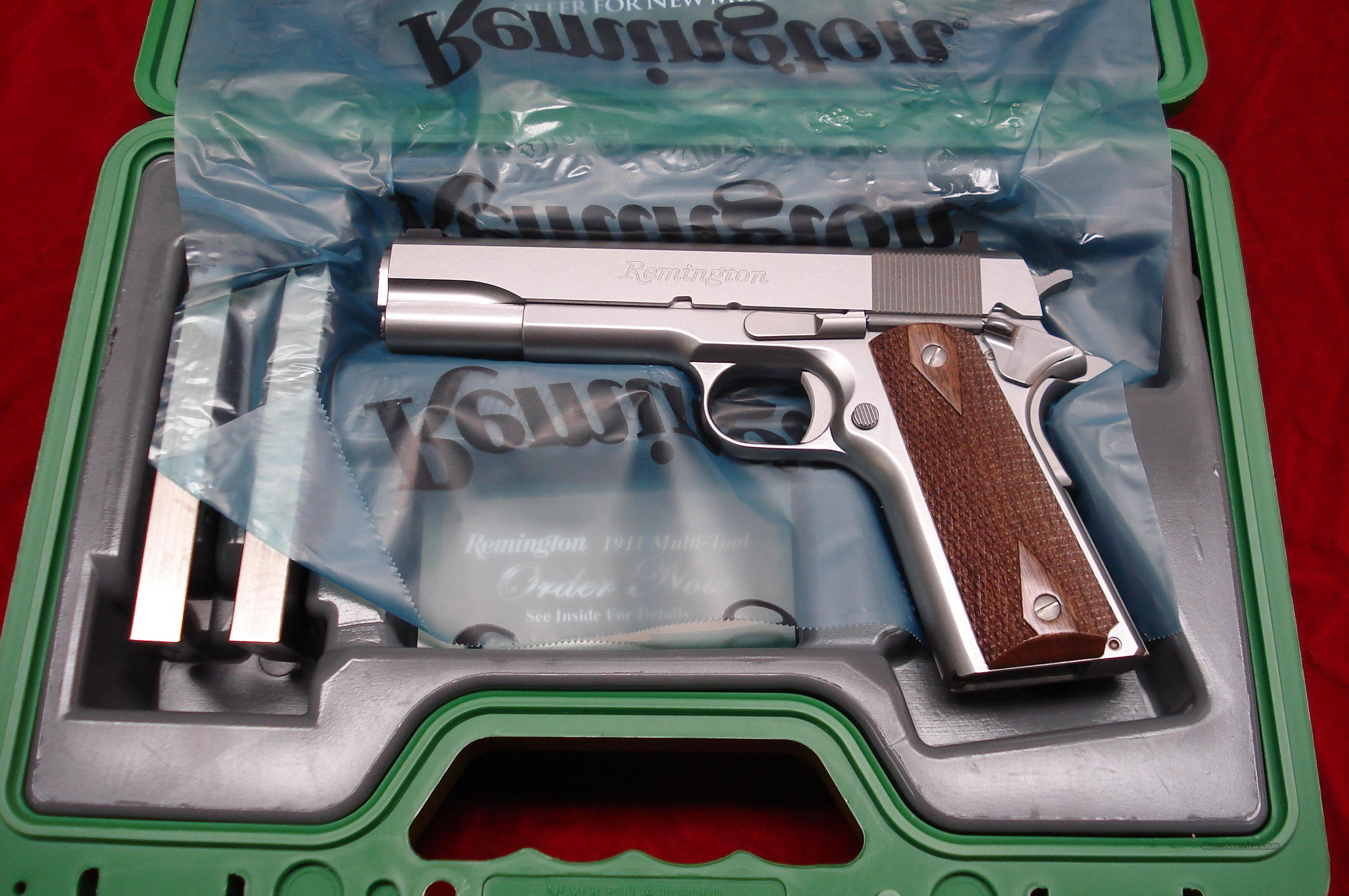 REMINGTON 1911 R1 STAINLESS 45ACP NEW {{ IN STOCK READY TO SHIP }}  Guns > Pistols > Remington Pistols - Modern