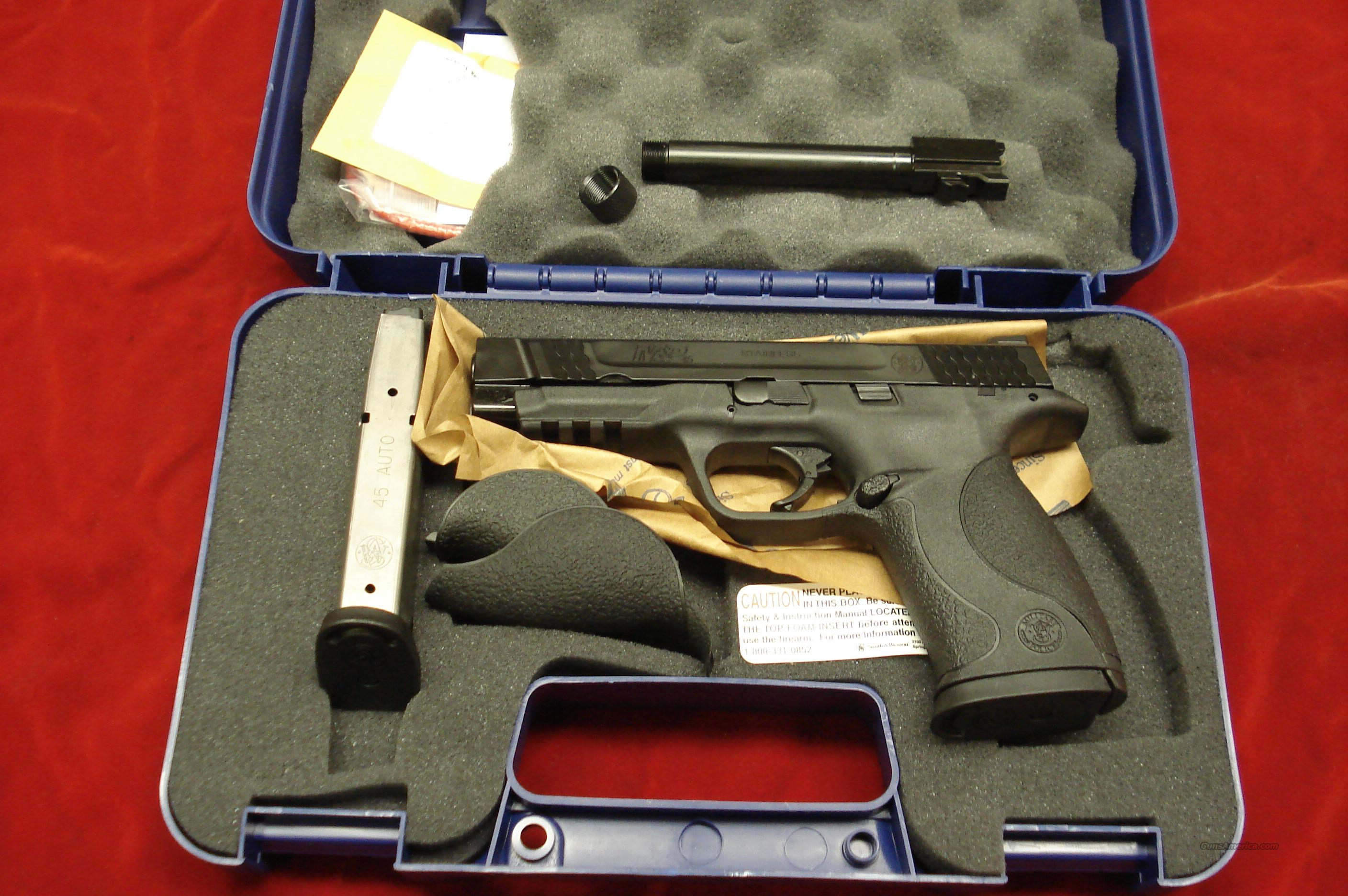 SMITH AND WESSON M&P 45ACP ADDITIONAL TREADED BARREL KIT NEW   Guns > Pistols > Smith & Wesson Pistols - Autos > Polymer Frame