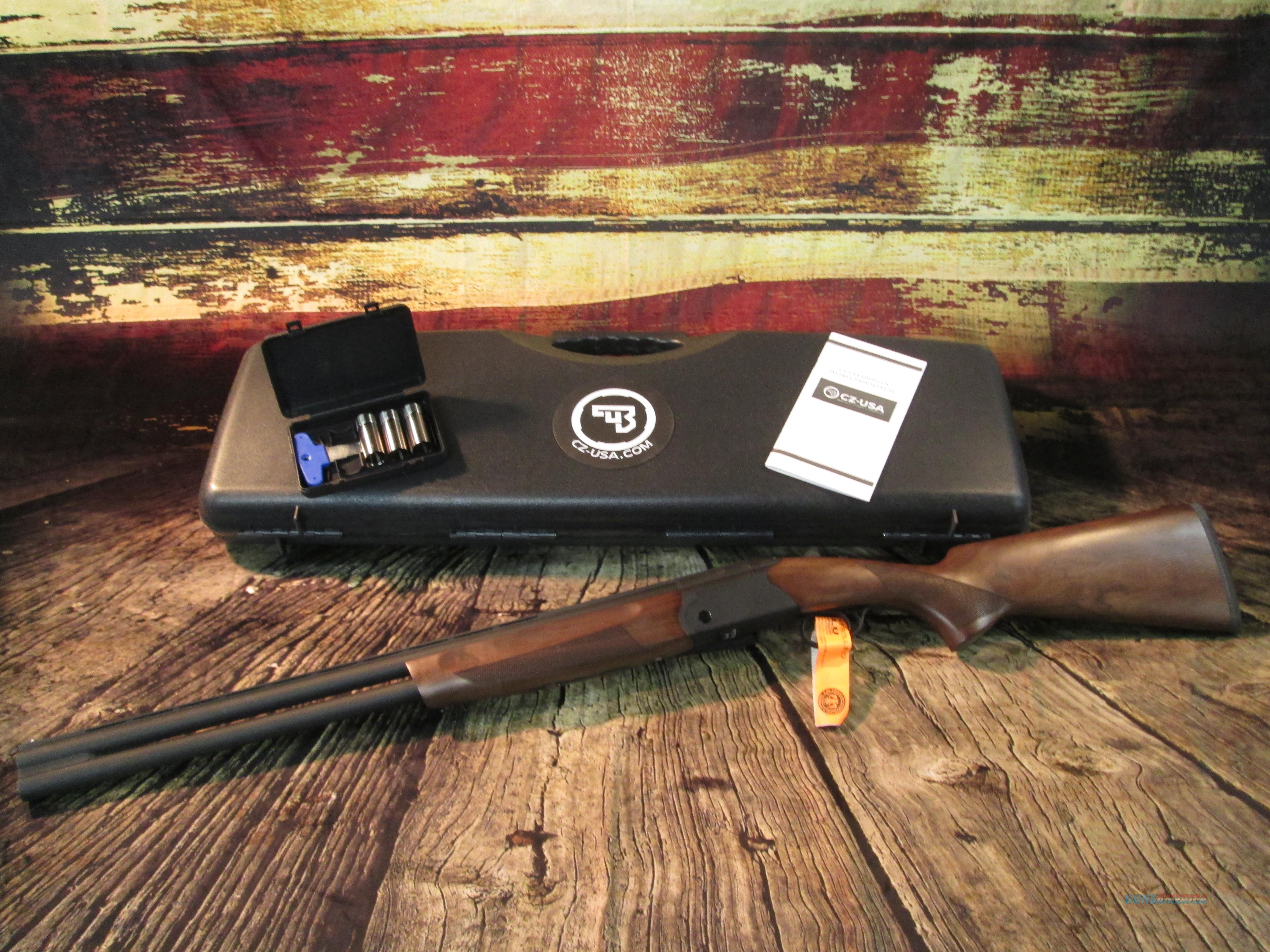 "CZ-USA UPLAND ULTRALIGHT O/U 12 GAUGE  26"" BARREL 3"" CHAMBER NEW (06085)  Guns > Shotguns > CZ Shotguns"