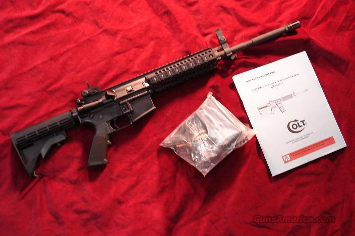 COLT LEO (LE6940) MONOLITHIC QUAD RAIL M4 CARBINE NEW IN THE BOX  Guns > Rifles > Colt Military/Tactical Rifles