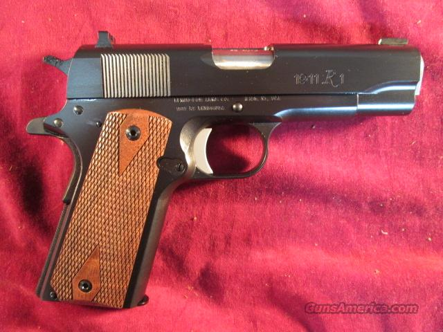 "REMINGTON R1 COMMANDER 4.25"" 45ACP NEW  Guns > Pistols > Remington Pistols - Modern"