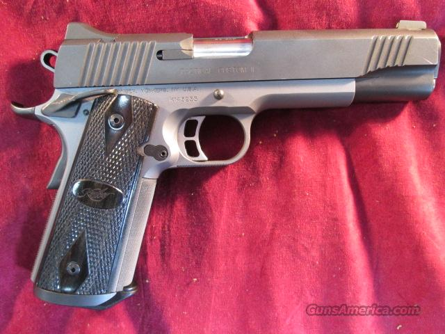 KIMBER TACTICAL CUSTOM II W/ NIGHT SIGHTS 45ACP USED   Guns > Pistols > Kimber of America Pistols