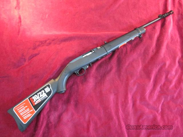 RUGER 10/22 TAKE DOWN BLUED SYNTHETIC STOCK NEW  Guns > Rifles > Ruger Rifles > 10-22