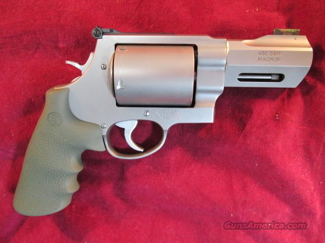 "SMITH AND WESSON 460 XVR REVOLVER 3.5"" BARREL, HIGH VIZ FRONT SIGHT NEW  Guns > Pistols > Smith & Wesson Revolvers > Performance Center"