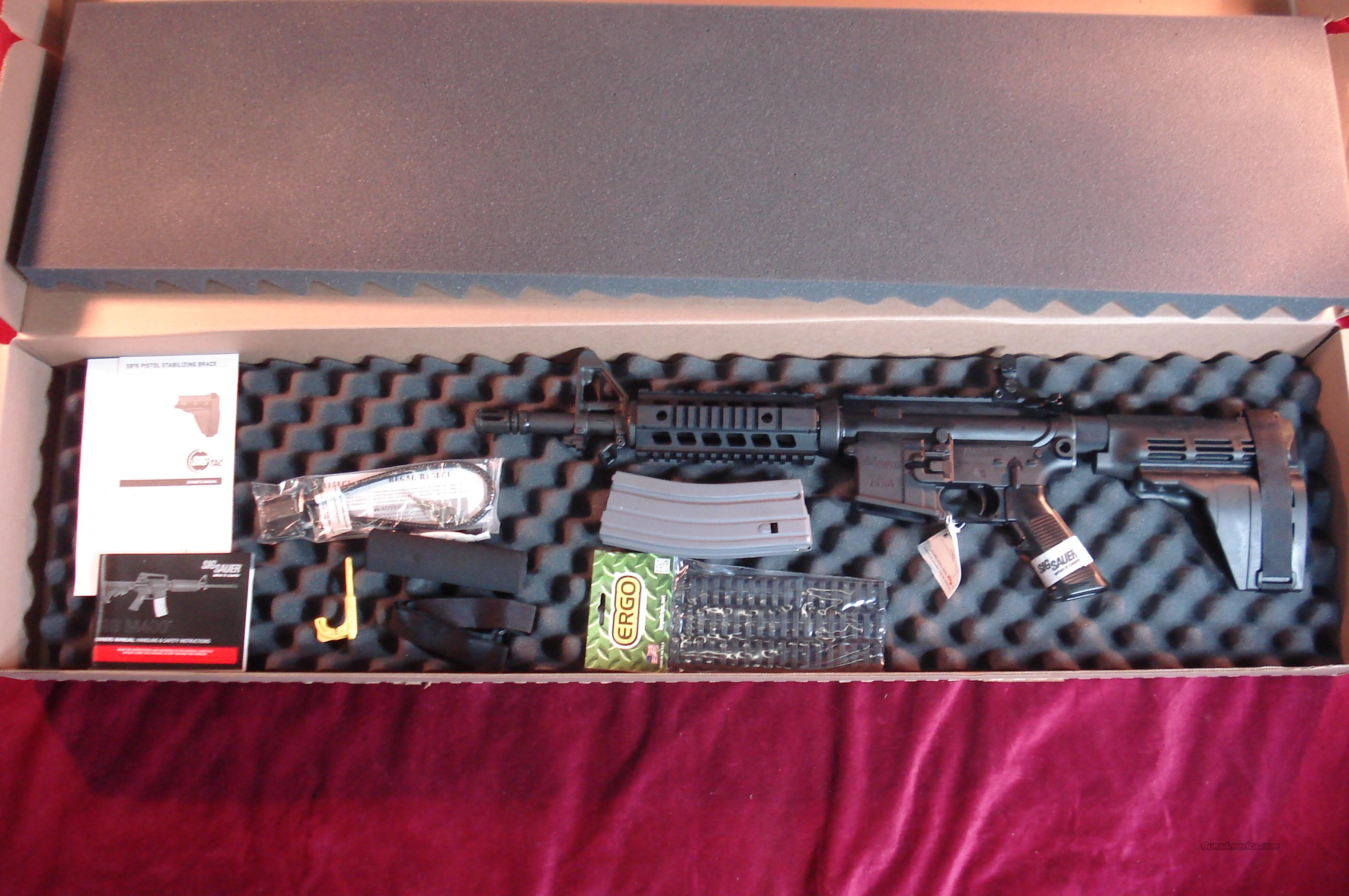 SIG SAUER M400 PISTOL  223 CAL WITH SIG PISTOL STABILIZING BRACE NEW  Guns > Pistols > Sig - Sauer/Sigarms Pistols > Other