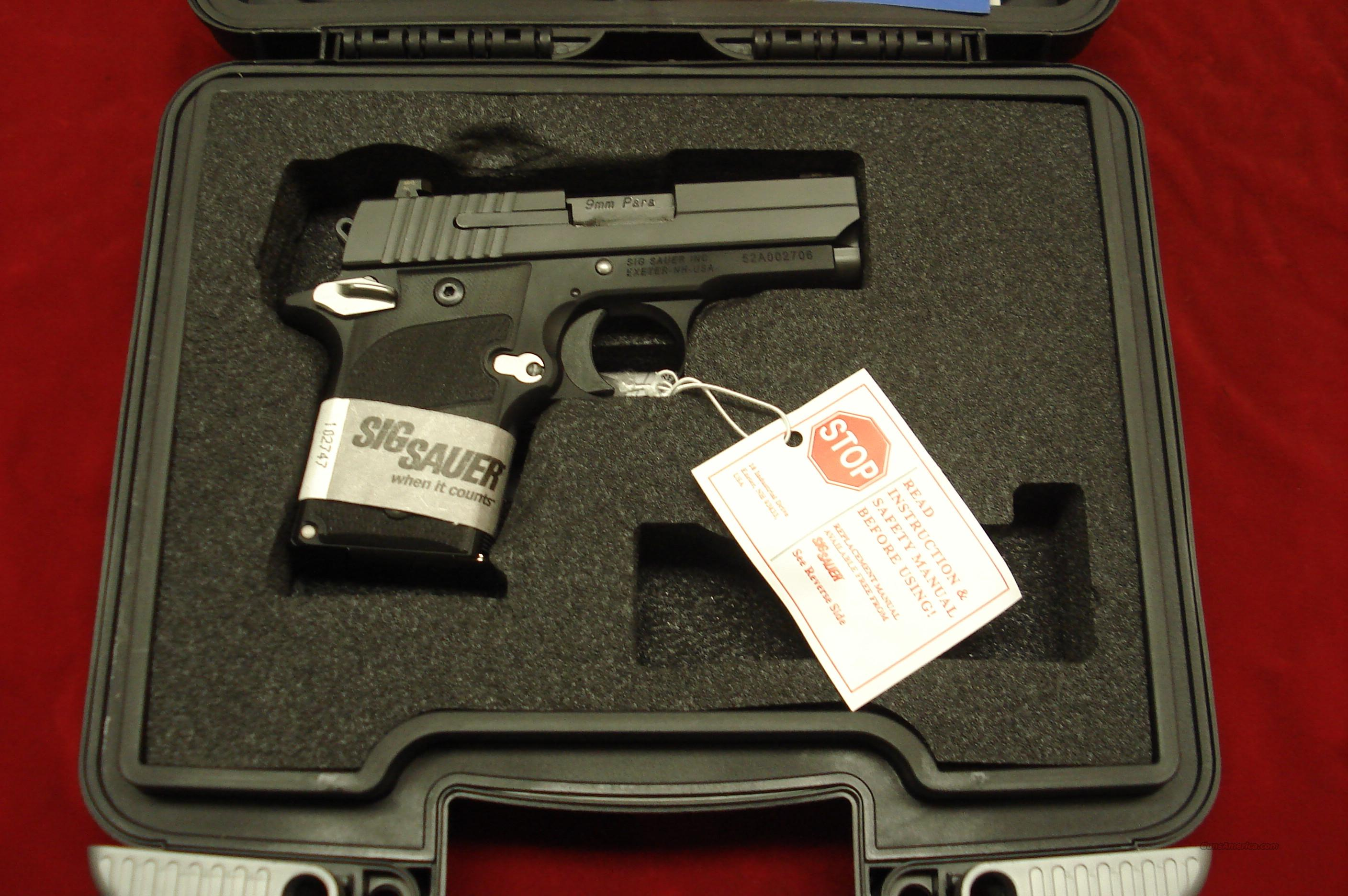 SIG SAUER 938 NIGHTMARE 9MM W/NIGHT SIGHTS  NEW  Guns > Pistols > Sig - Sauer/Sigarms Pistols > Other