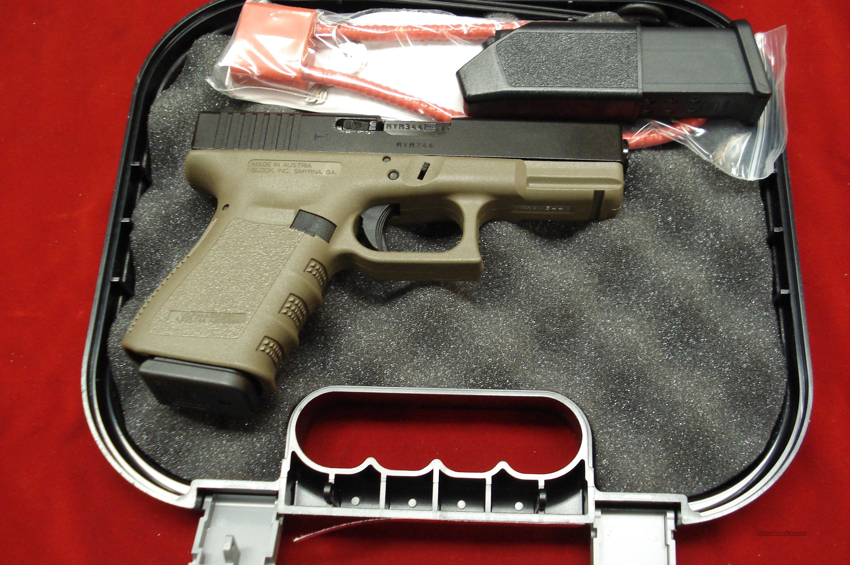 GLOCK MODEL 19OD HIGH CAP NEW  Guns > Pistols > Glock Pistols > 19