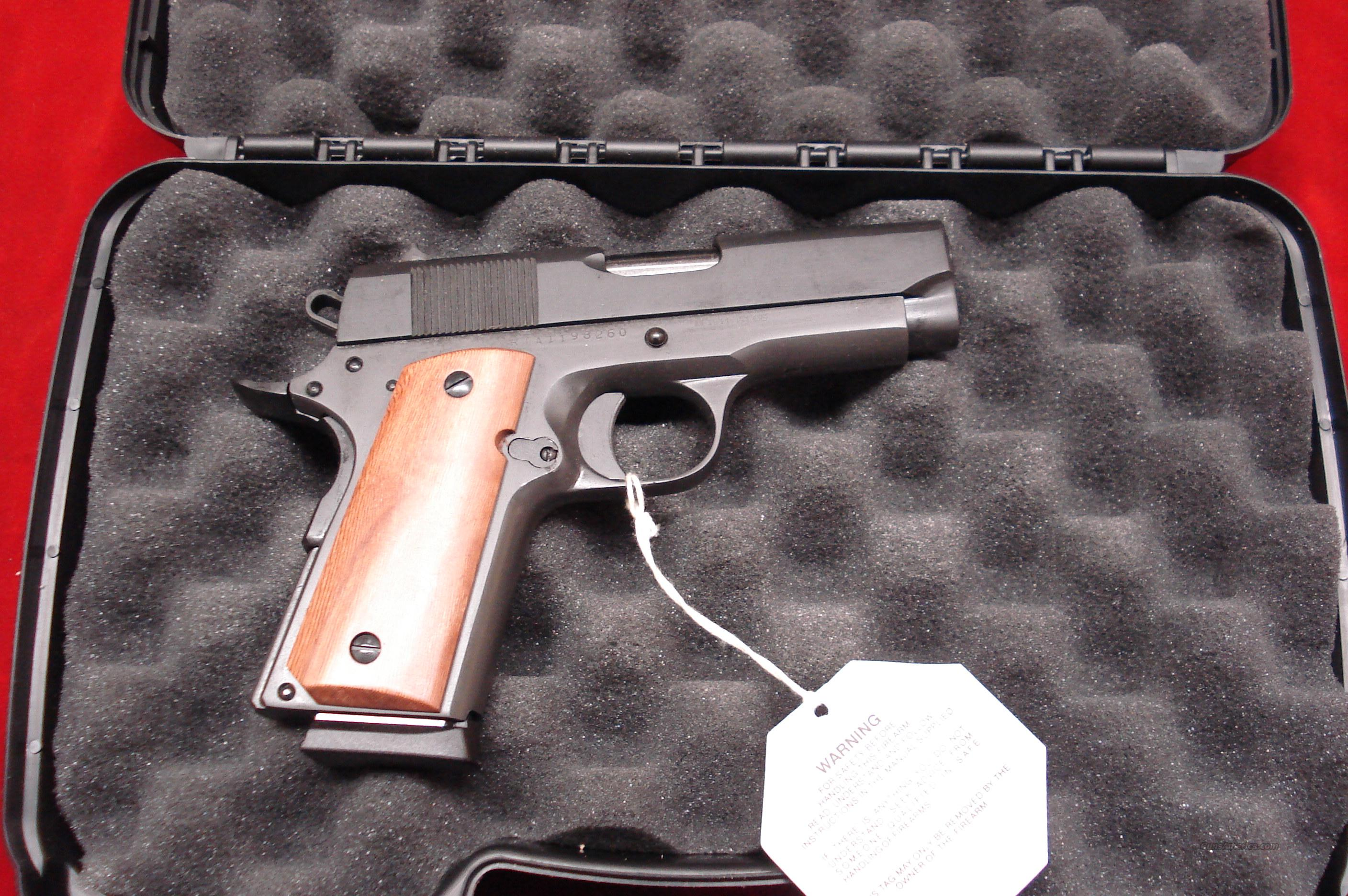 ROCK ISLAND ARMORY COMPACT 1911-A1 NEW   Guns > Pistols > 1911 Pistol Copies (non-Colt)