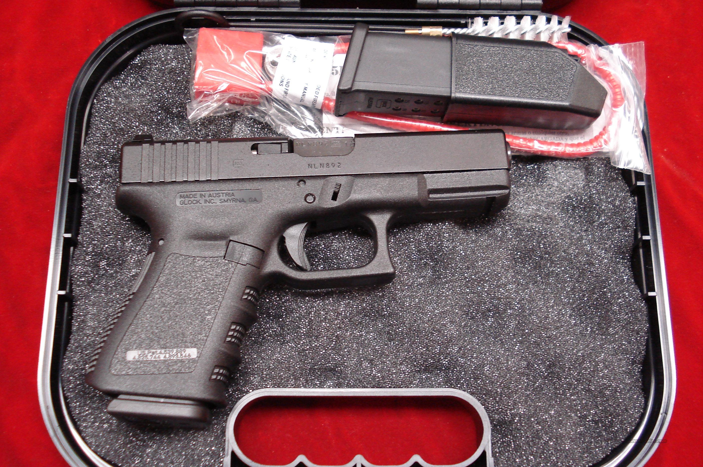 GLOCK MODEL 19 9MM HIGH CAPACITY WITH FACTORY  NIGHT SIGHTS  NEW  Guns > Pistols > Glock Pistols > 19