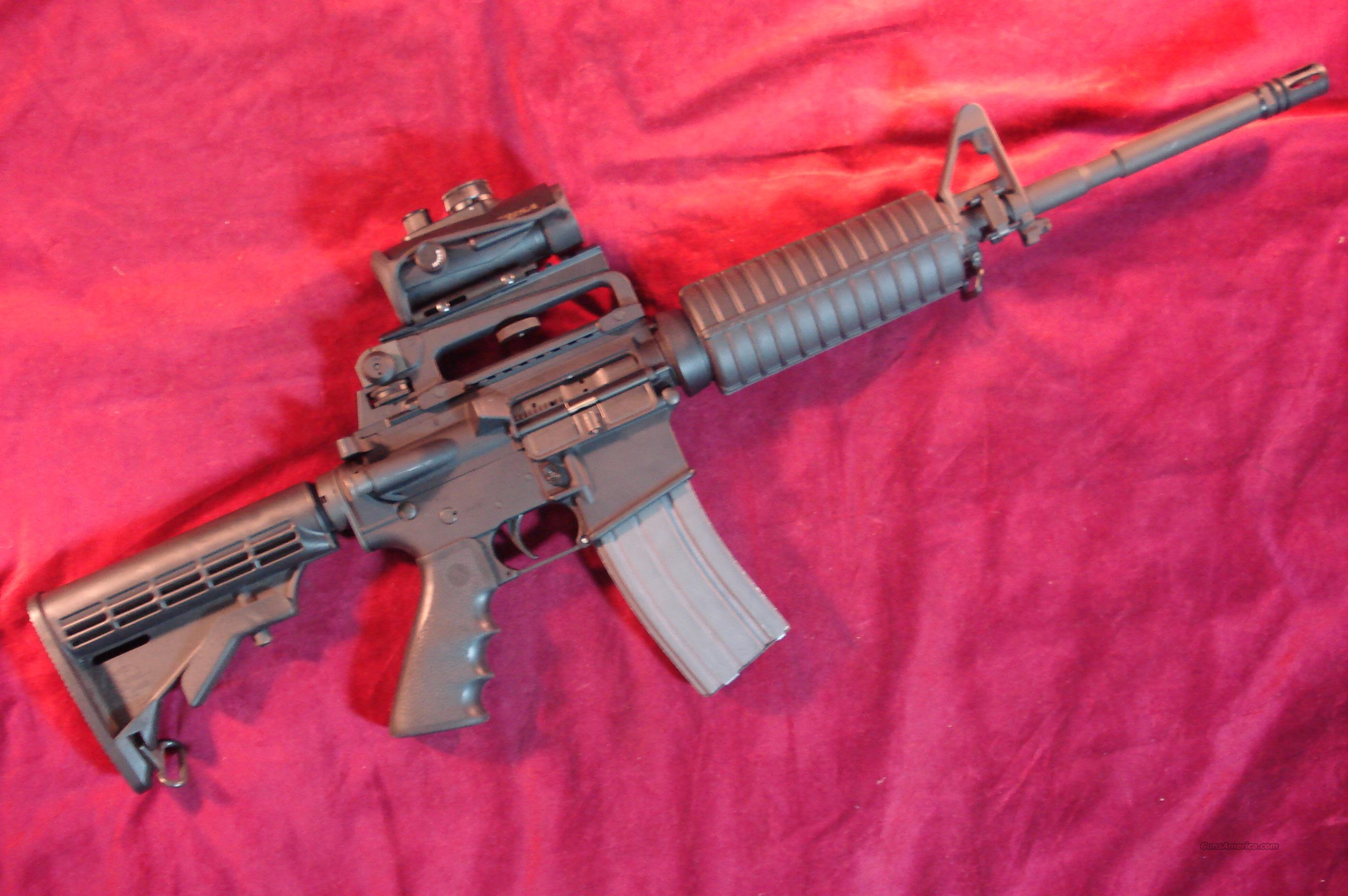 ROCK RIVER AR15 223 CAL W/ BSA RED DOT SIGHT AND HARD CASE USED   Guns > Rifles > Rock River Arms Rifles