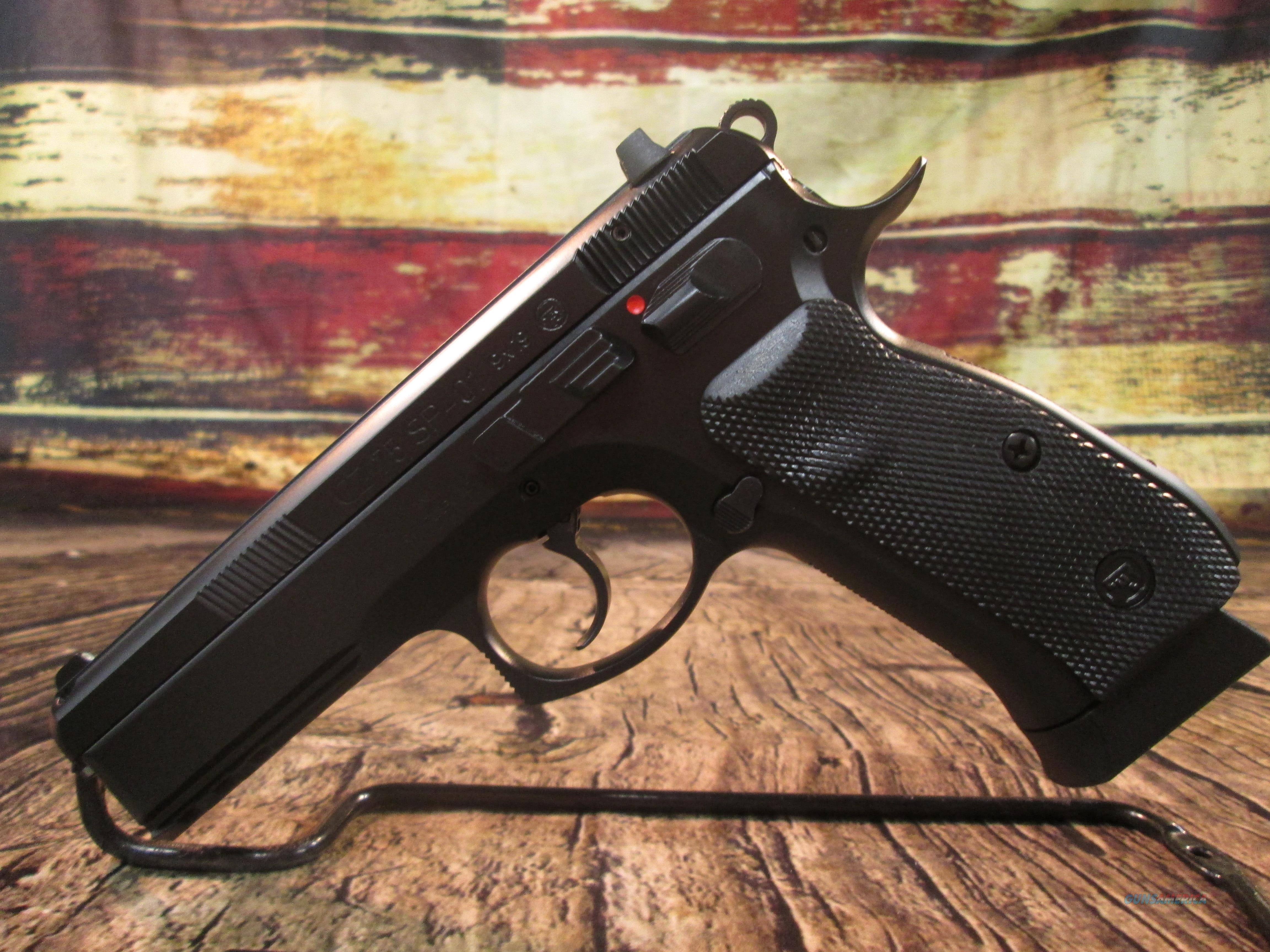 CZ 75 SP-01 9MM NEW (91152)  Guns > Pistols > CZ Pistols
