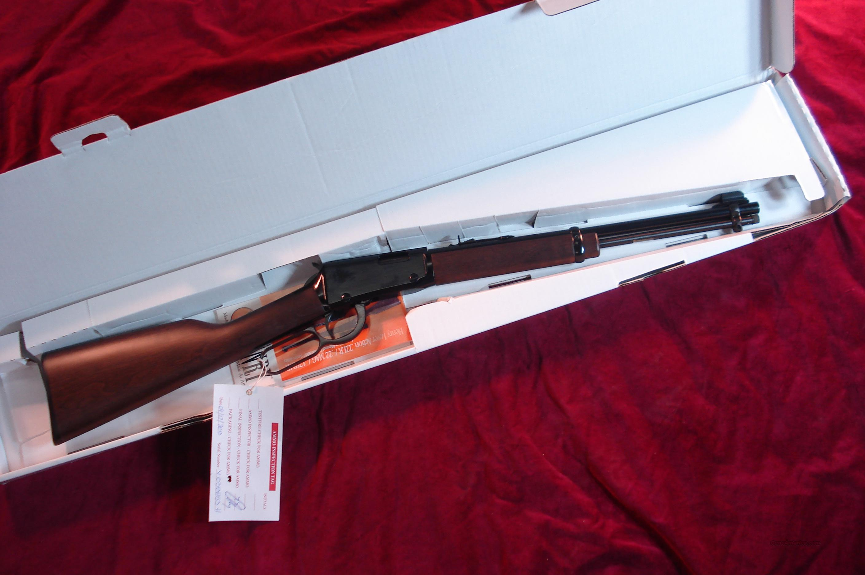 HENRY YOUTH MODEL LEVER ACTION .22 CAL. NEW  Guns > Rifles > Henry Rifle Company