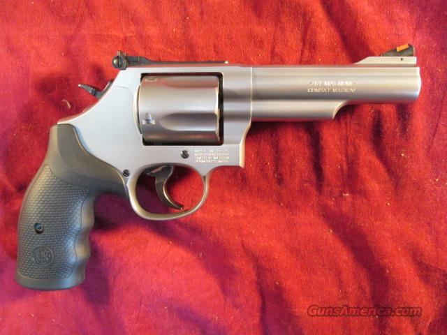 "SMITH AND WESSON 4.25"" MODEL 69 .44 MAGNUM 5 SHOT NEW  Guns > Pistols > Smith & Wesson Revolvers > Full Frame Revolver"