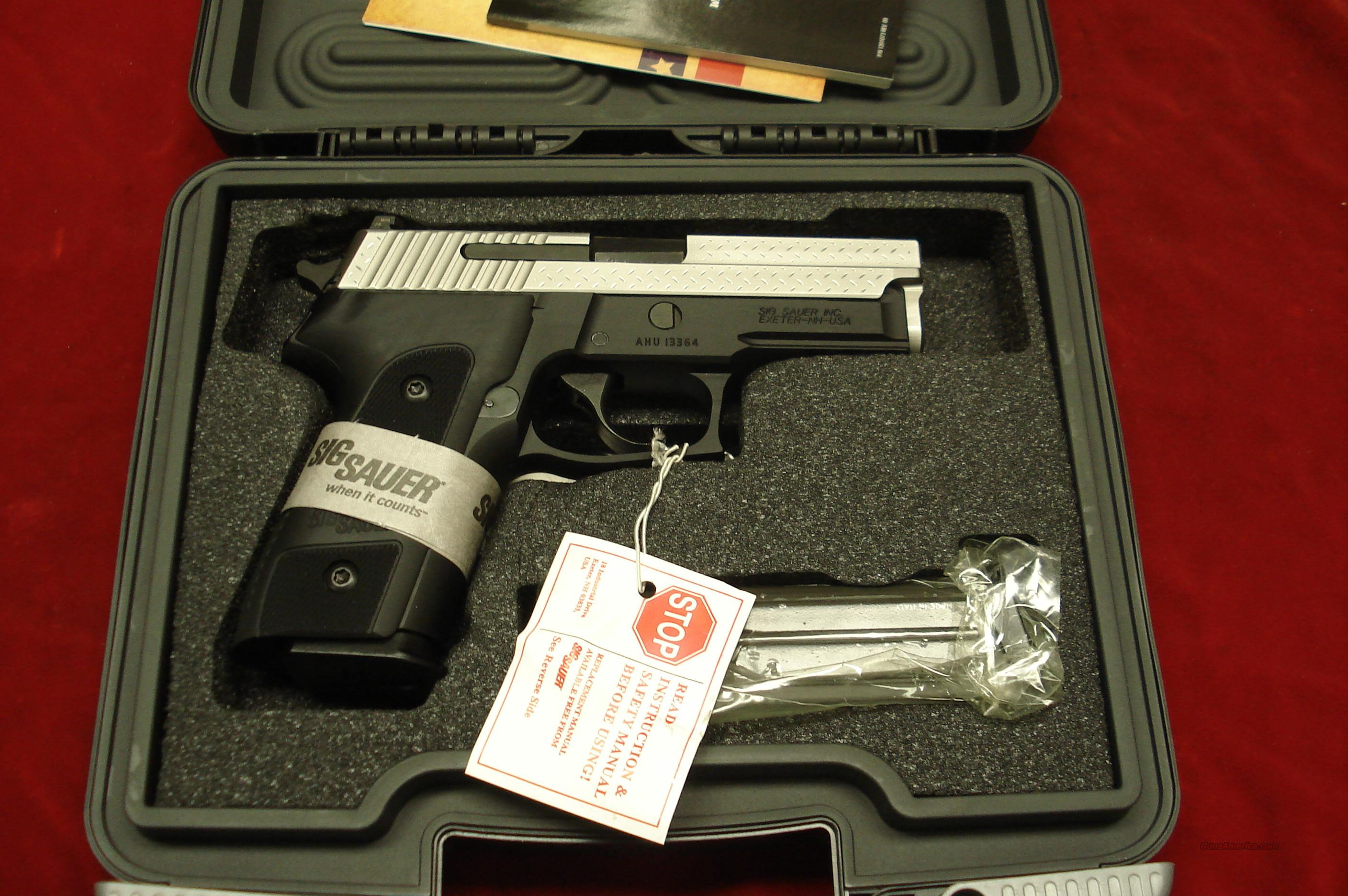 SIG SAUER P229 DIAMOND PLATE 9MM WITH NIGHT SIGHTS NEW   Guns > Pistols > Sig - Sauer/Sigarms Pistols > P229