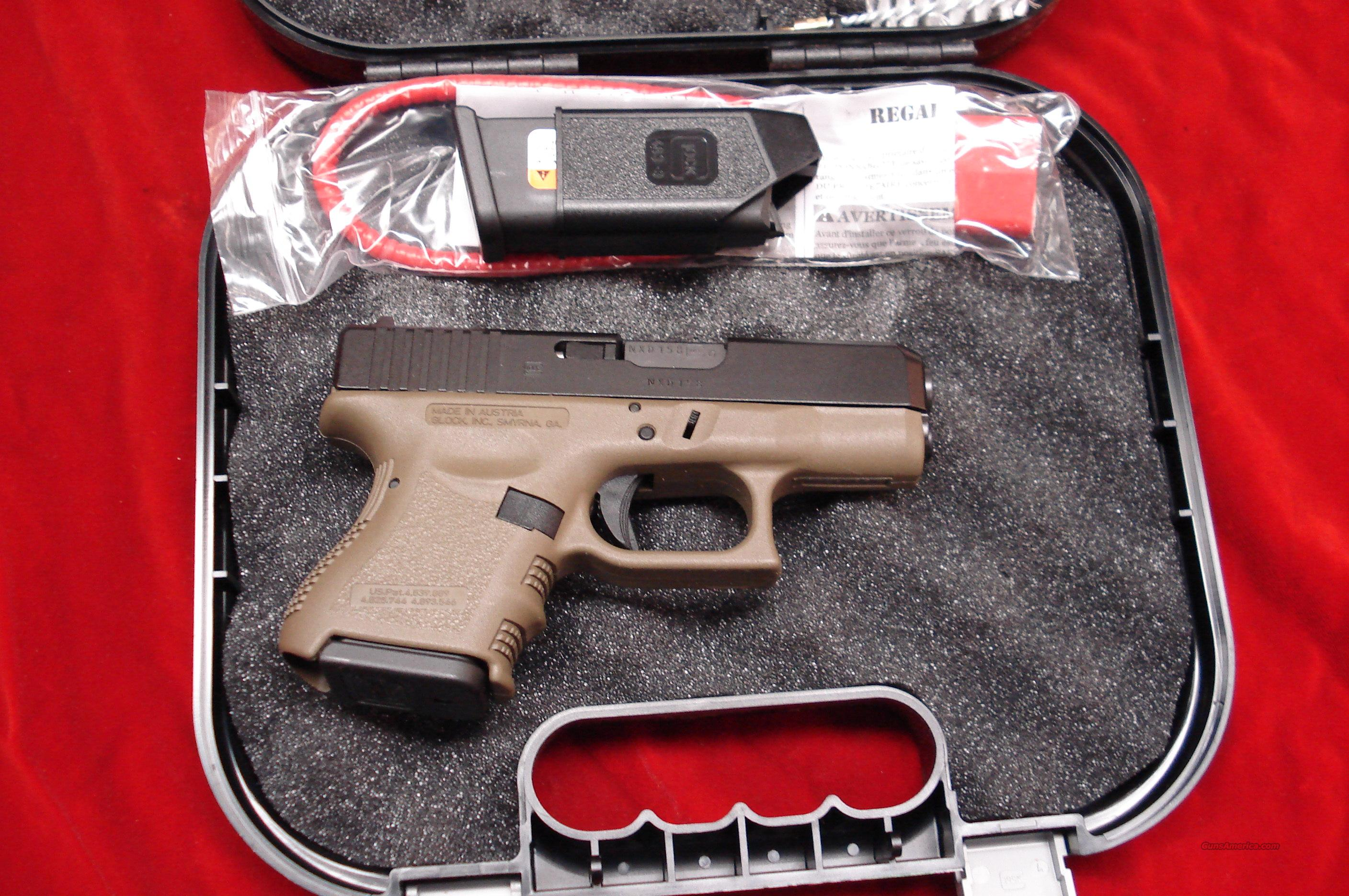 GLOCK MODEL 26  OD GREEN 9MM NEW   Guns > Pistols > Glock Pistols > 26/27