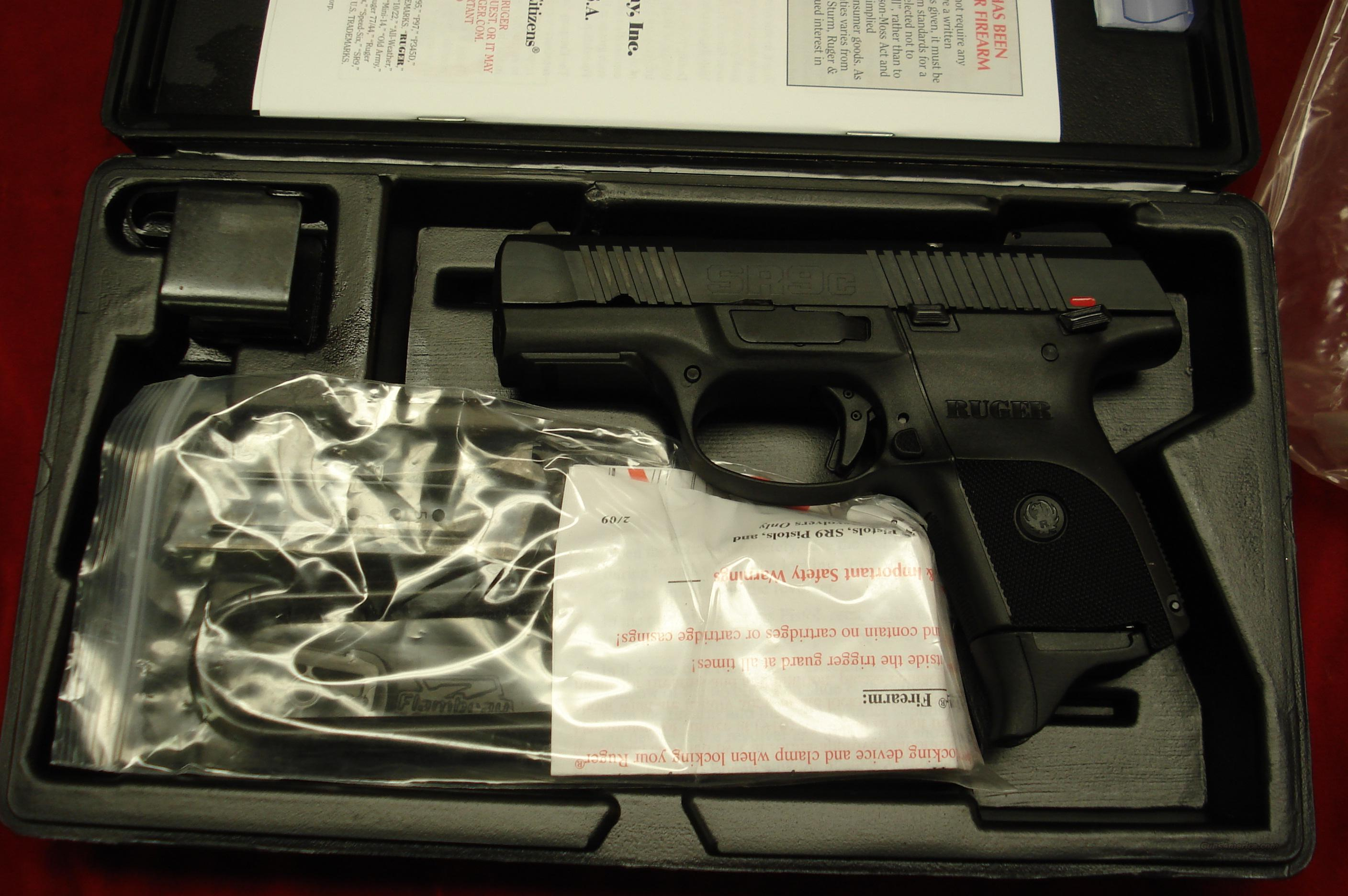 RUGER SR9C (COMPACT) BLACKENED ALLOY 10 ROUND  NEW (IN STOCK)! (BSR9C-10L)  Guns > Pistols > Ruger Semi-Auto Pistols > SR9