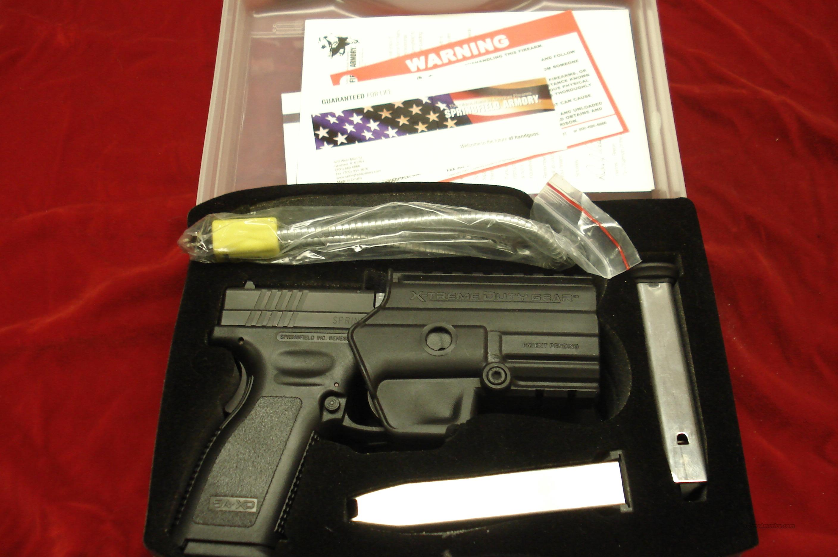 SPRINGFIELD ARMORY XD 9 V-10 PORTED HIGH CAP PACKAGE USED   Guns > Pistols > Springfield Armory Pistols > XD (eXtreme Duty)