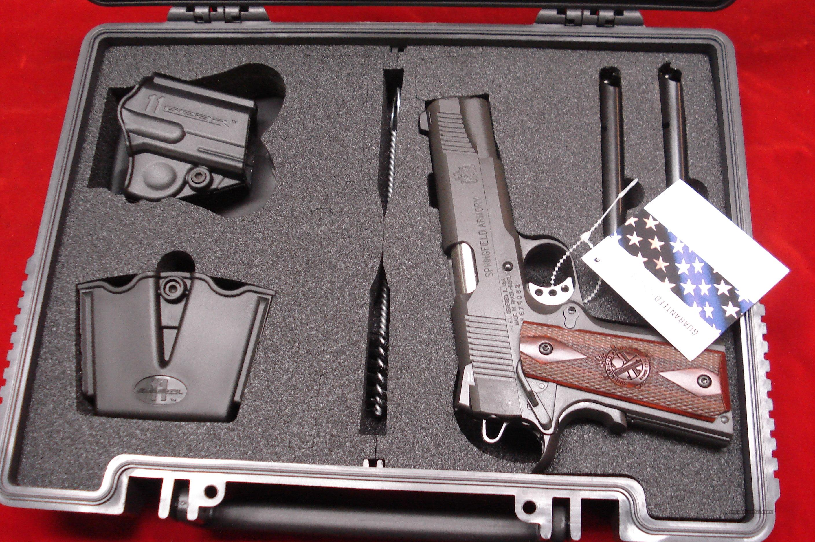 SPRINGFIELD ARMORY PARKERIZED 1911 A1 LOADED NIGHT SIGHTS (PX9109LP) NEW  Guns > Pistols > Springfield Armory Pistols > 1911 Type