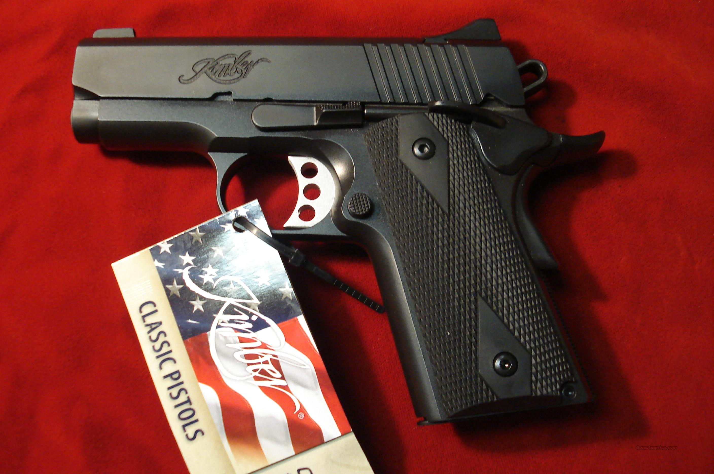 KIMBER  ULTRA CARRY II  45acp NEW  Guns > Pistols > Kimber of America Pistols