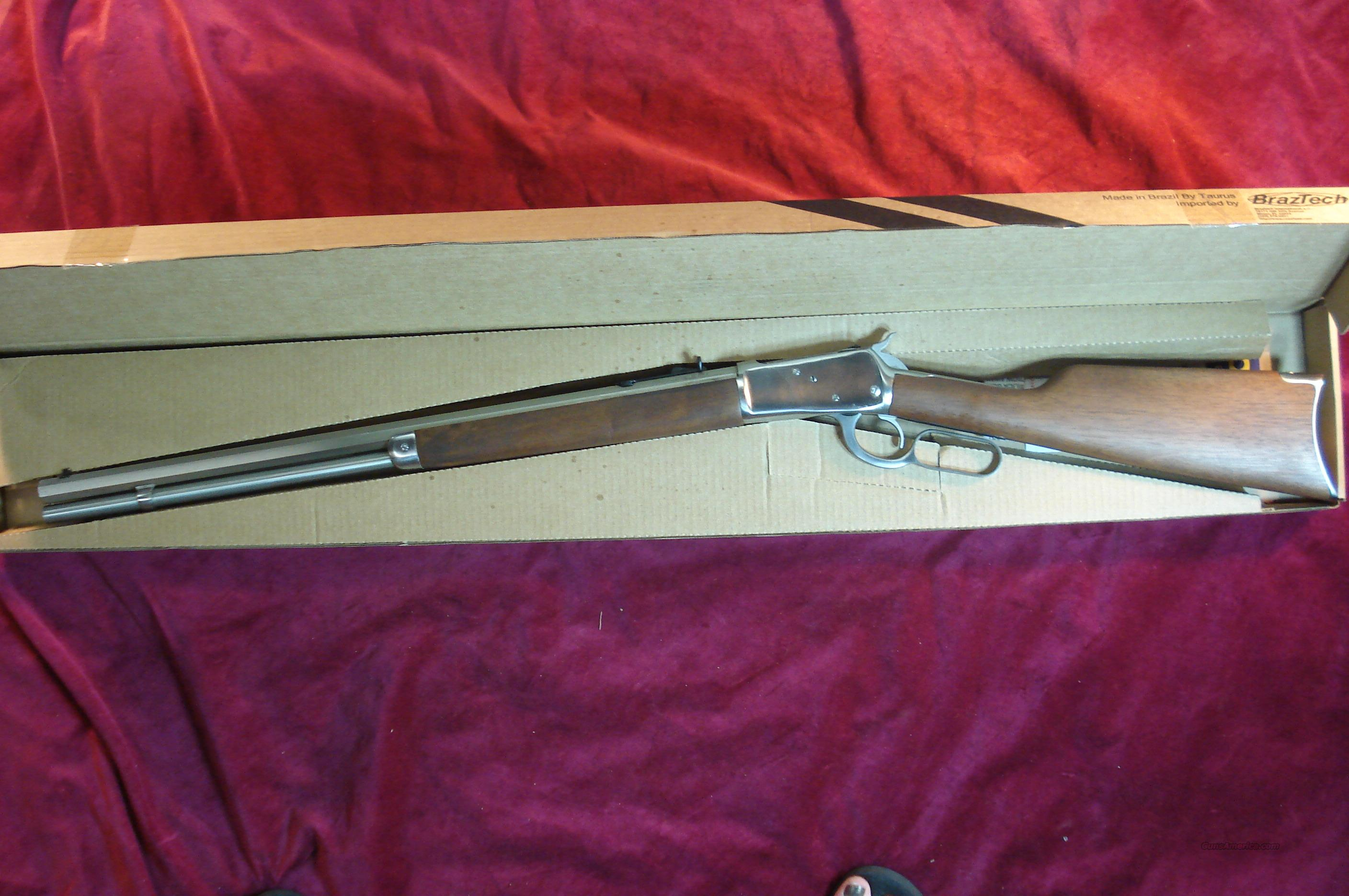 "ROSSI 92 LEVER ACTION 45COLT CAL. 24"" OCTAGON BARREL STAINLESS NEW  Guns > Rifles > Rossi Rifles > Cowboy"
