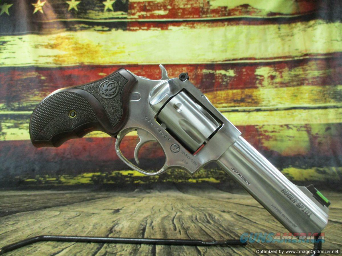"""Ruger SP101 Match Champion 4.2"""" Stainless 357mag/38sp USED (67319)  Guns > Pistols > Ruger Double Action Revolver > SP101 Type"""