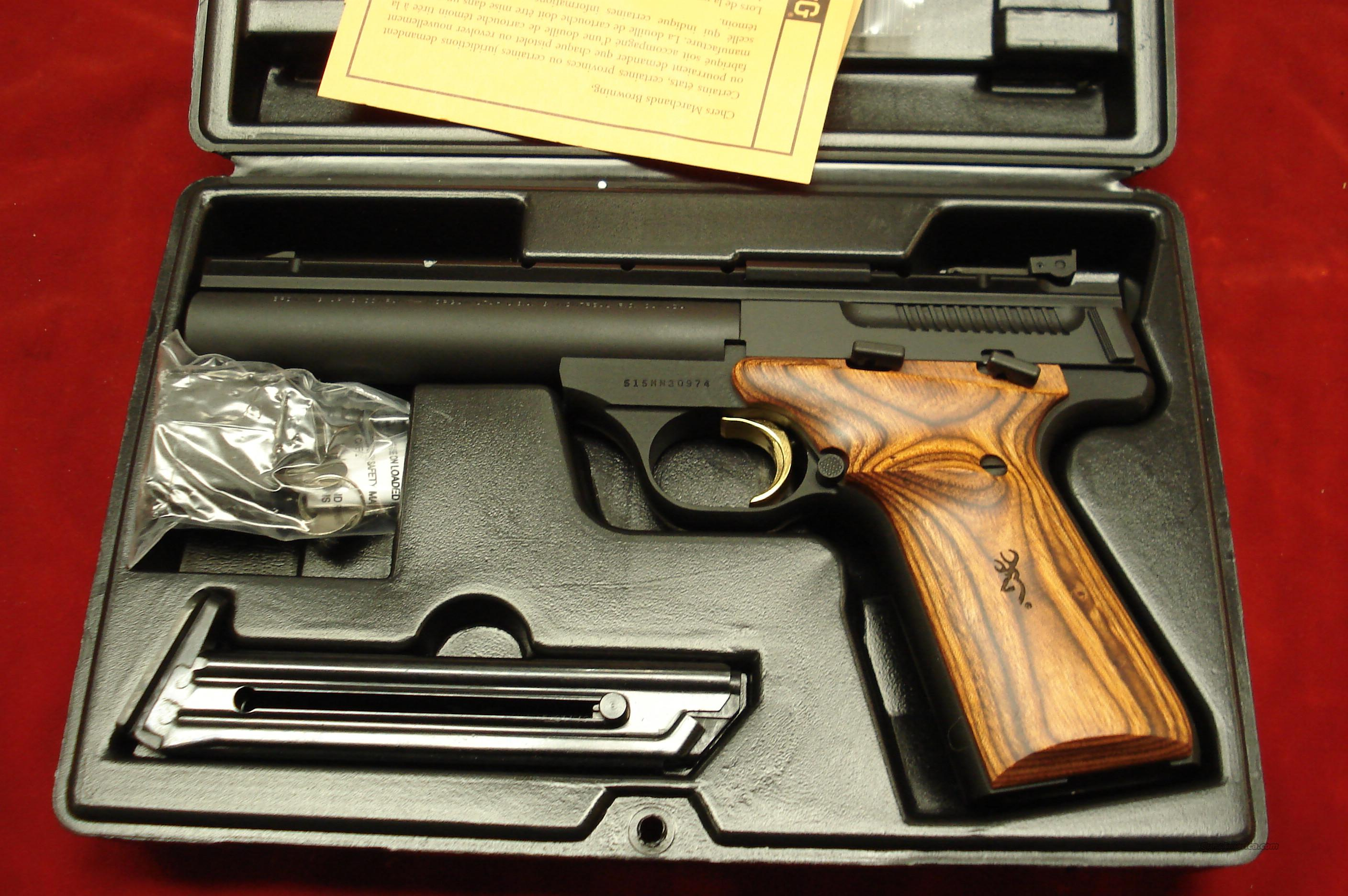 "BROWNING BUCK MARK 5.5"" FIELD COCOBOLO GRIP NEW   Guns > Pistols > Browning Pistols > Buckmark"