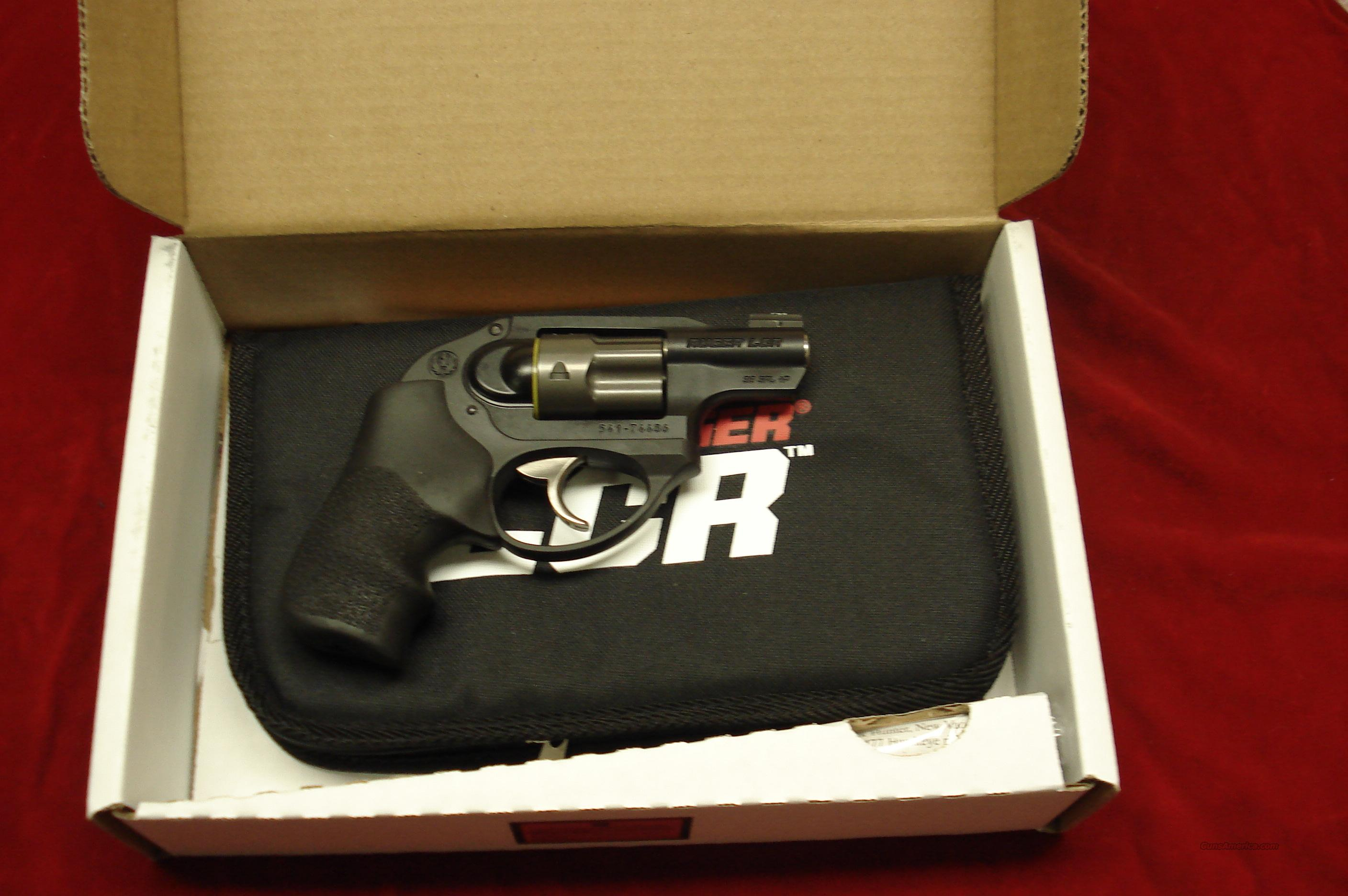 RUGER LCR 38SPL.+P WITH XS 24/7 TRIJICON NIGHT SIGHT NEW (LCR-XS)  Guns > Pistols > Ruger Double Action Revolver > LCR