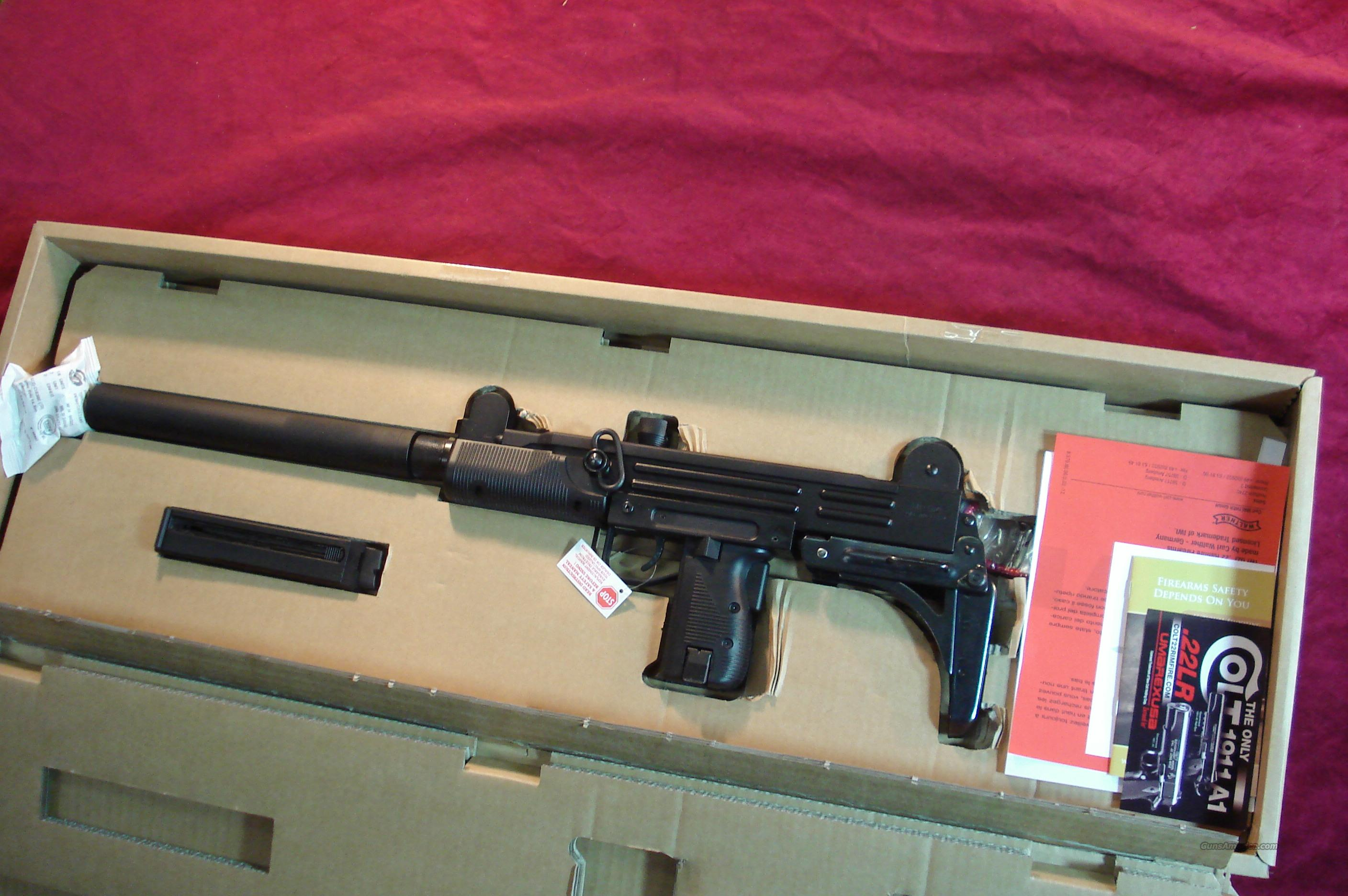 WALTHER MADE 22CAL. UZI CARBINE NEW  Guns > Rifles > Walther Rifles