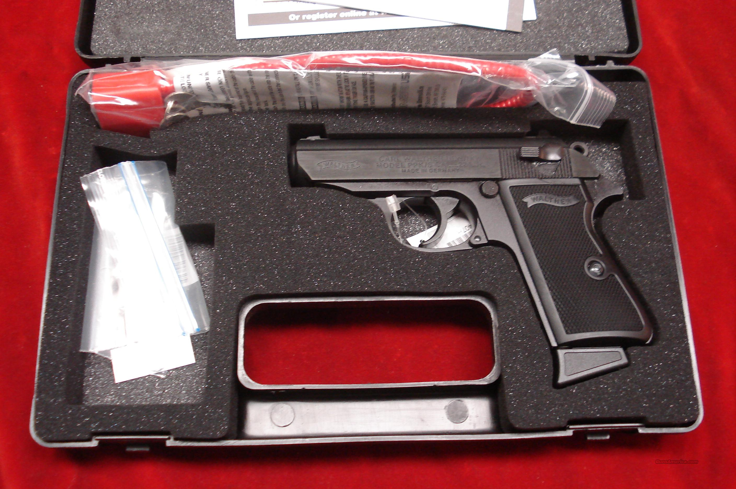 WALTHER PPK/S 22CAL. BLACK NEW   Guns > Pistols > Walther Pistols > Post WWII > PPK Series