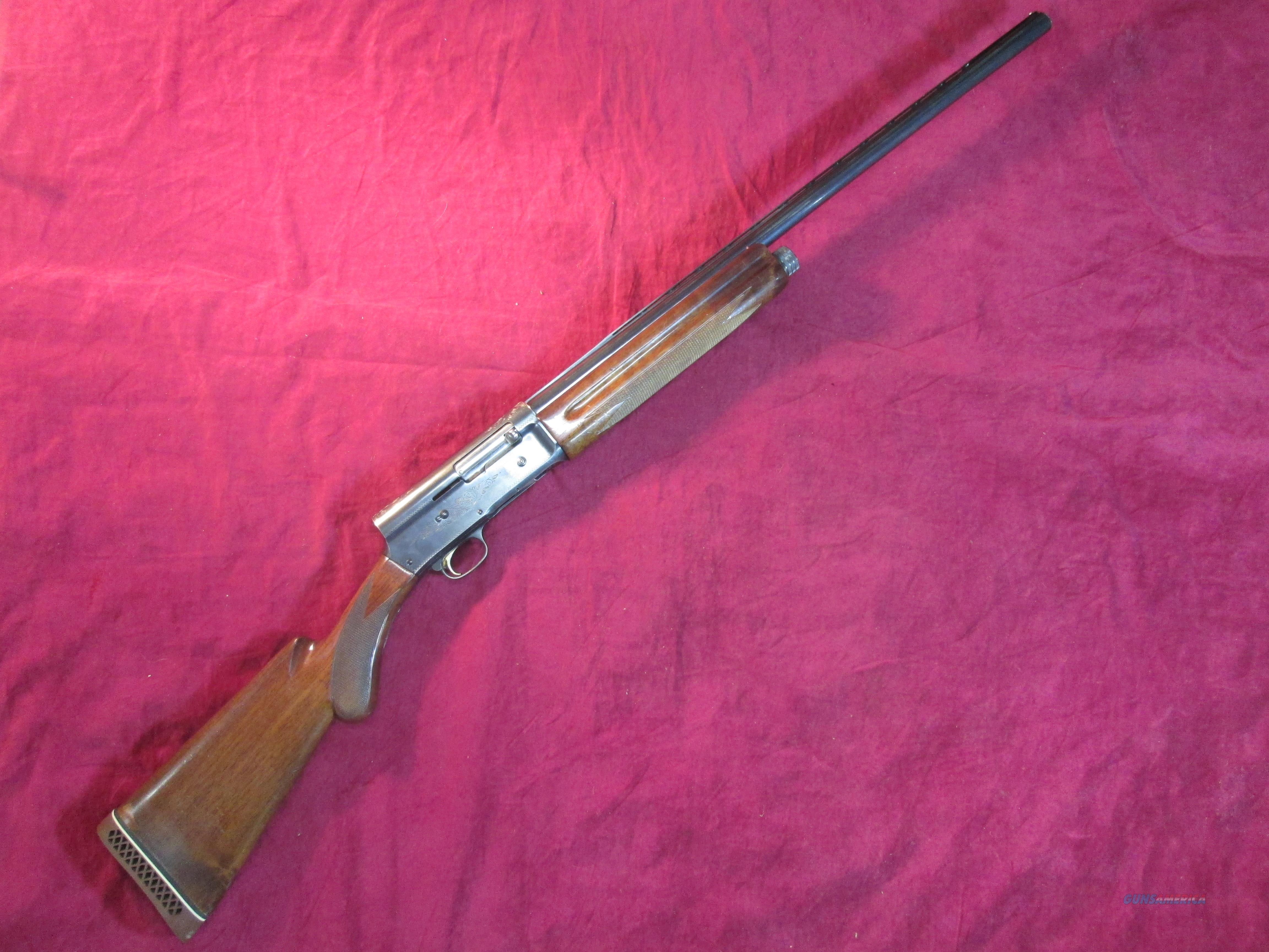 "BROWNING A5 ""LIGHT TWELVE"" USED   Guns > Shotguns > Browning Shotguns > Autoloaders > Hunting"