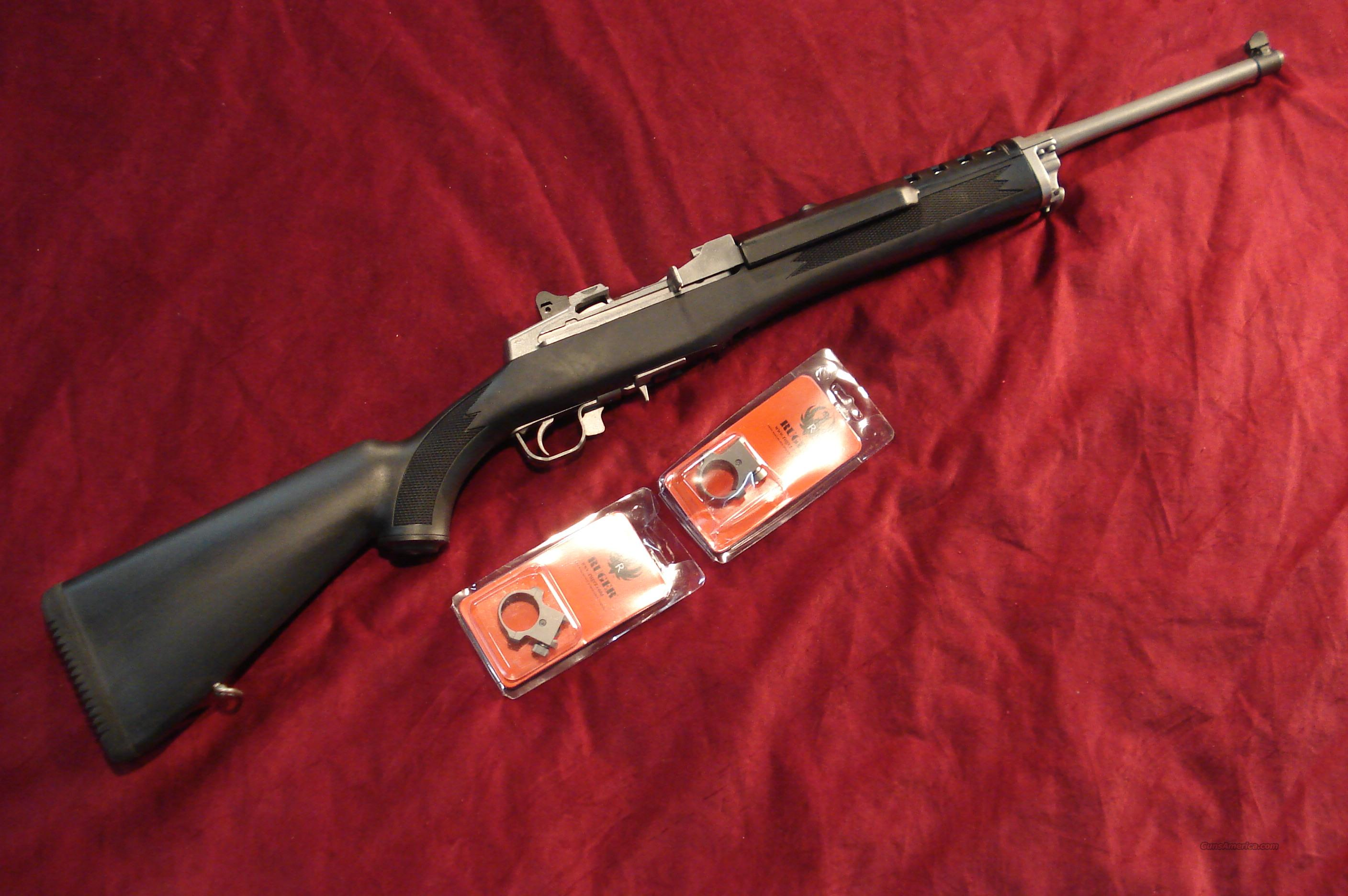 RUGER ALL WEATHER MINI 14 6.8REM. SPL. STAINLESS RANCH  NEW  Guns > Rifles > Ruger Rifles > Mini-14 Type